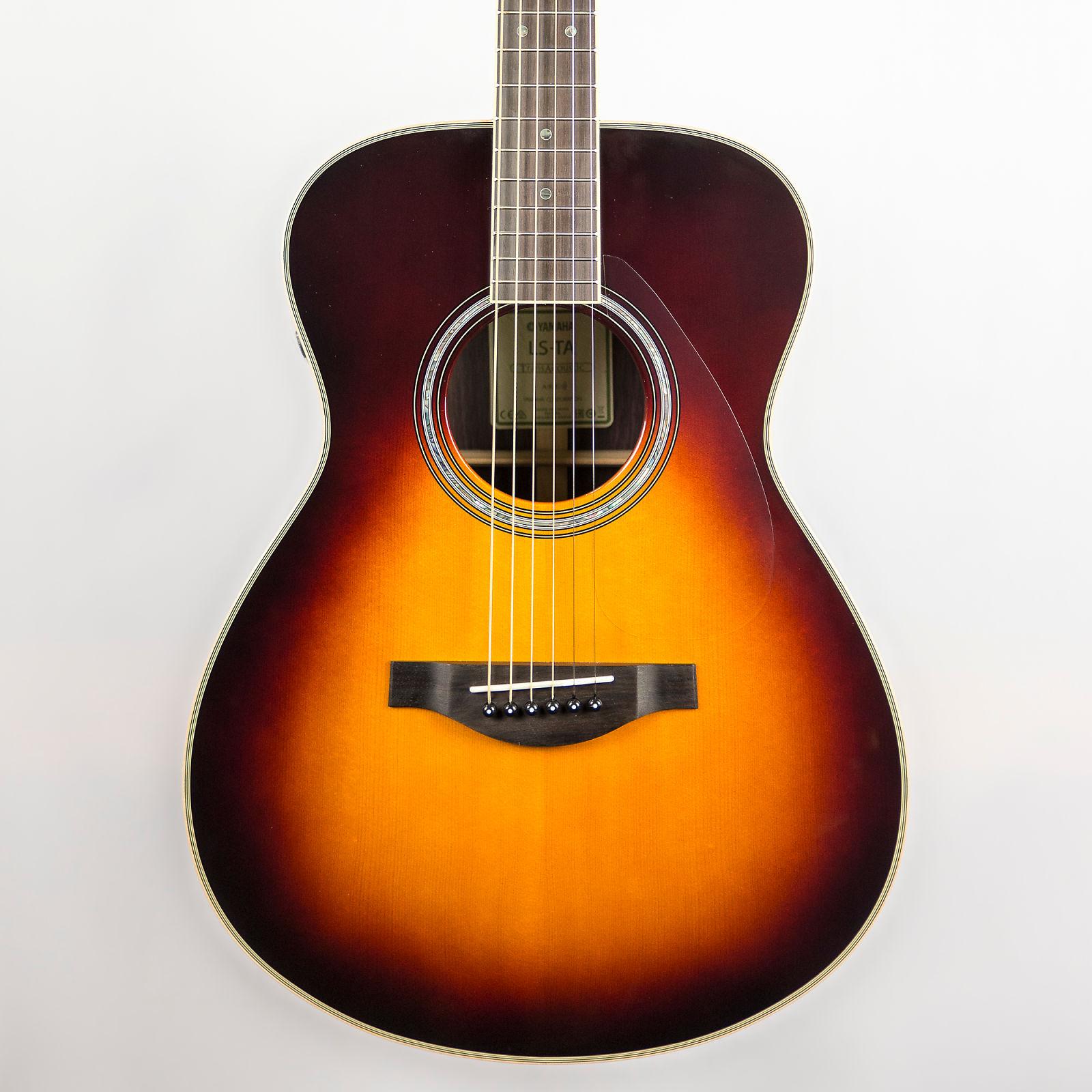 Yamaha LS-TA TransAcoustic Guitar in Brown Sunburst
