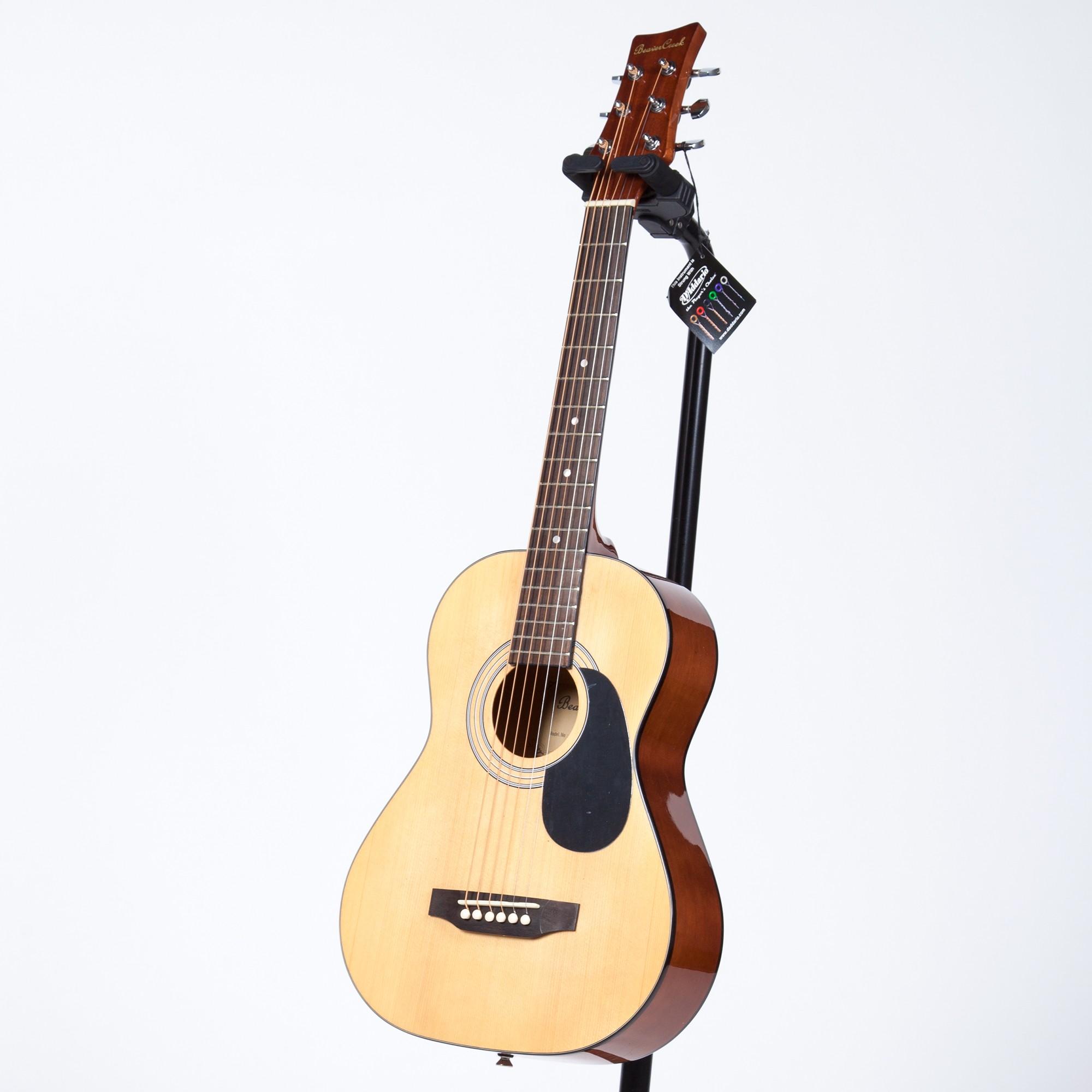 BeaverCreek BCTD401 1/2 Size Acoustic Guitar - Natural - Acoustic ...