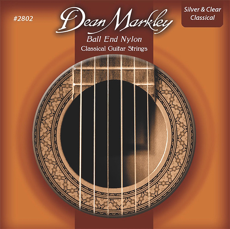 Amazon.com: Dean Markley Ball End Nylon Classical Guitar Strings, 28 ...