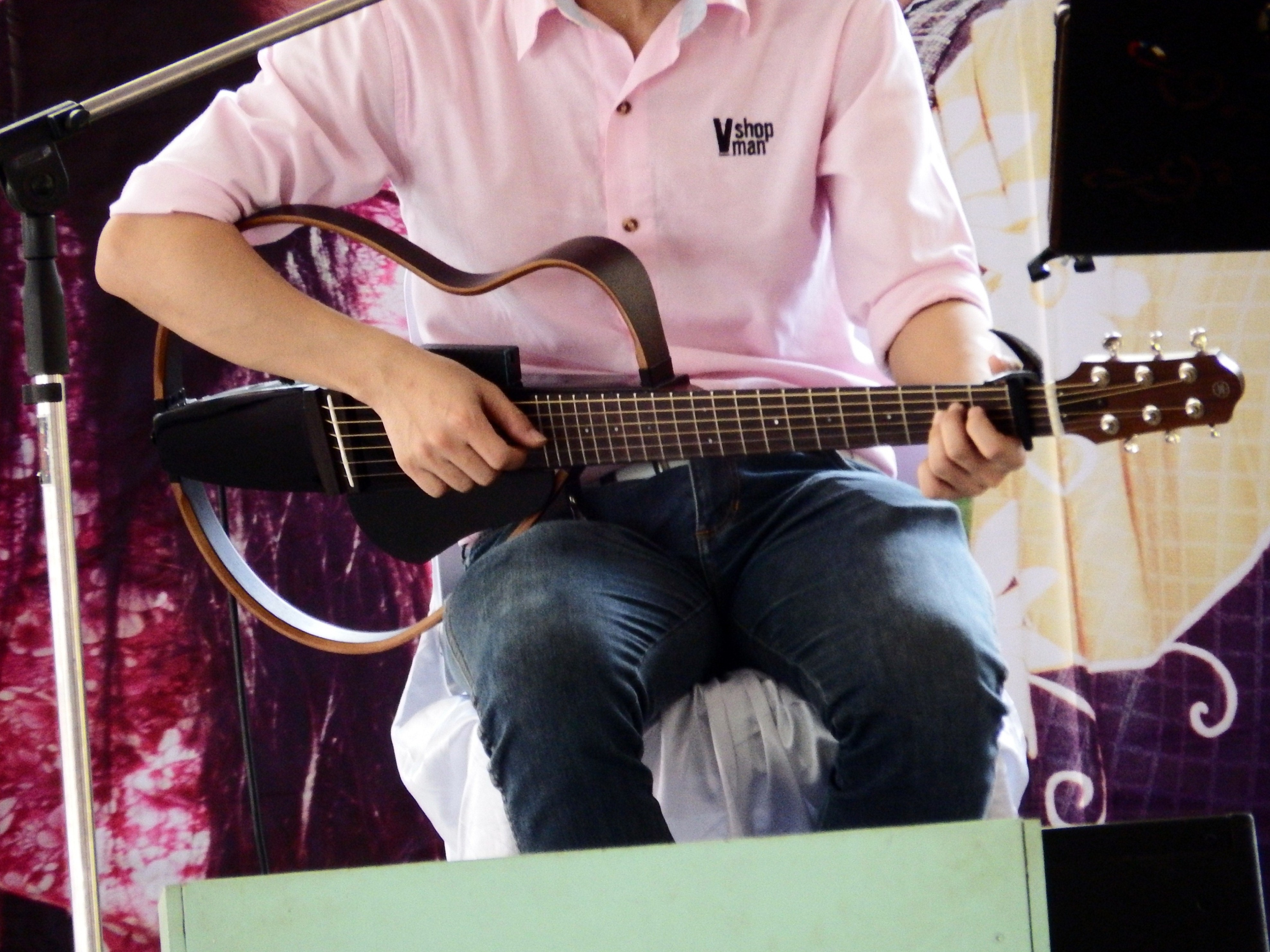 Guitarist playing guitar, Acoustic, Music, Show, Playing, HQ Photo