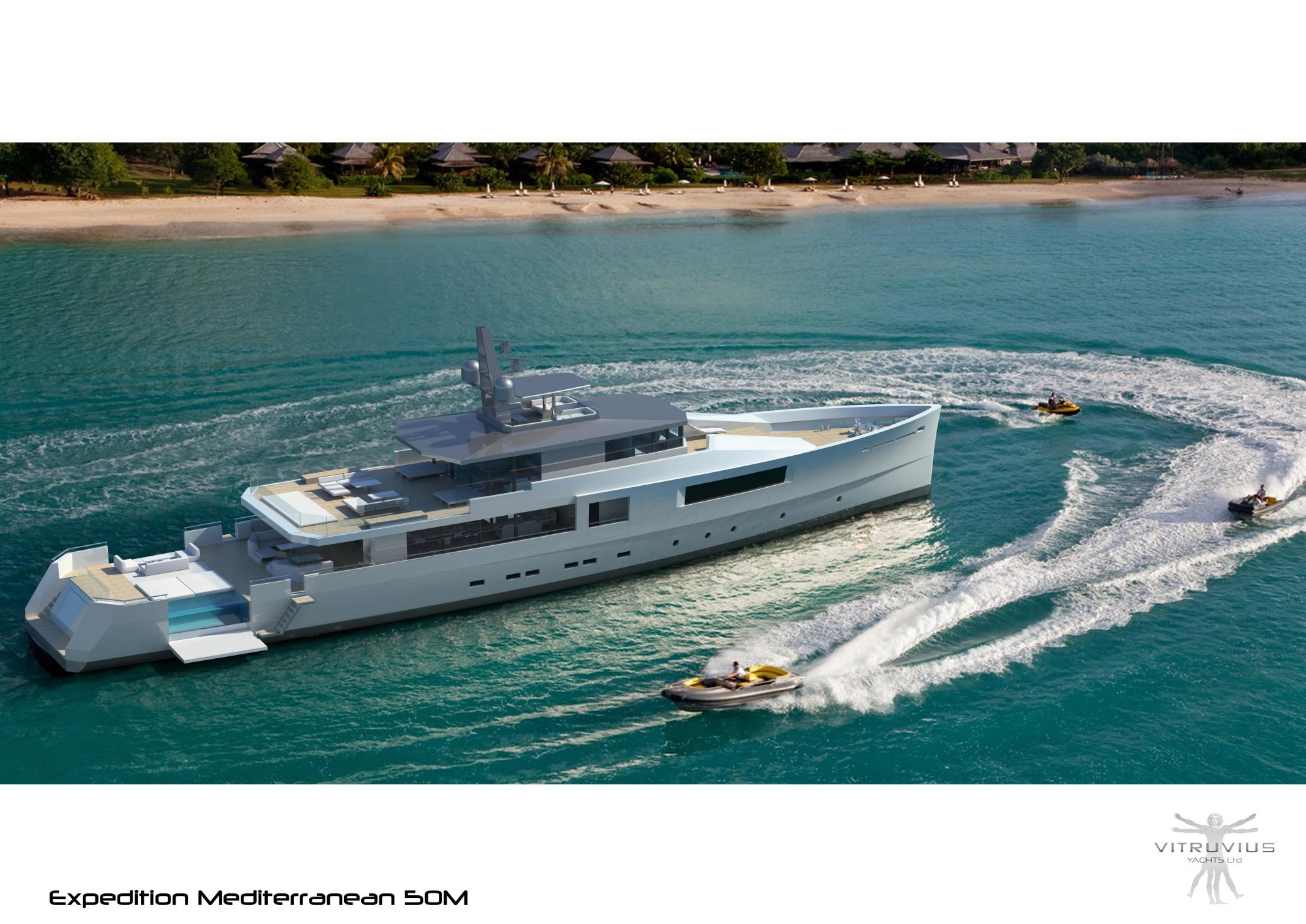 Whole range of explorer vessels offered by Vitruvius Yachts