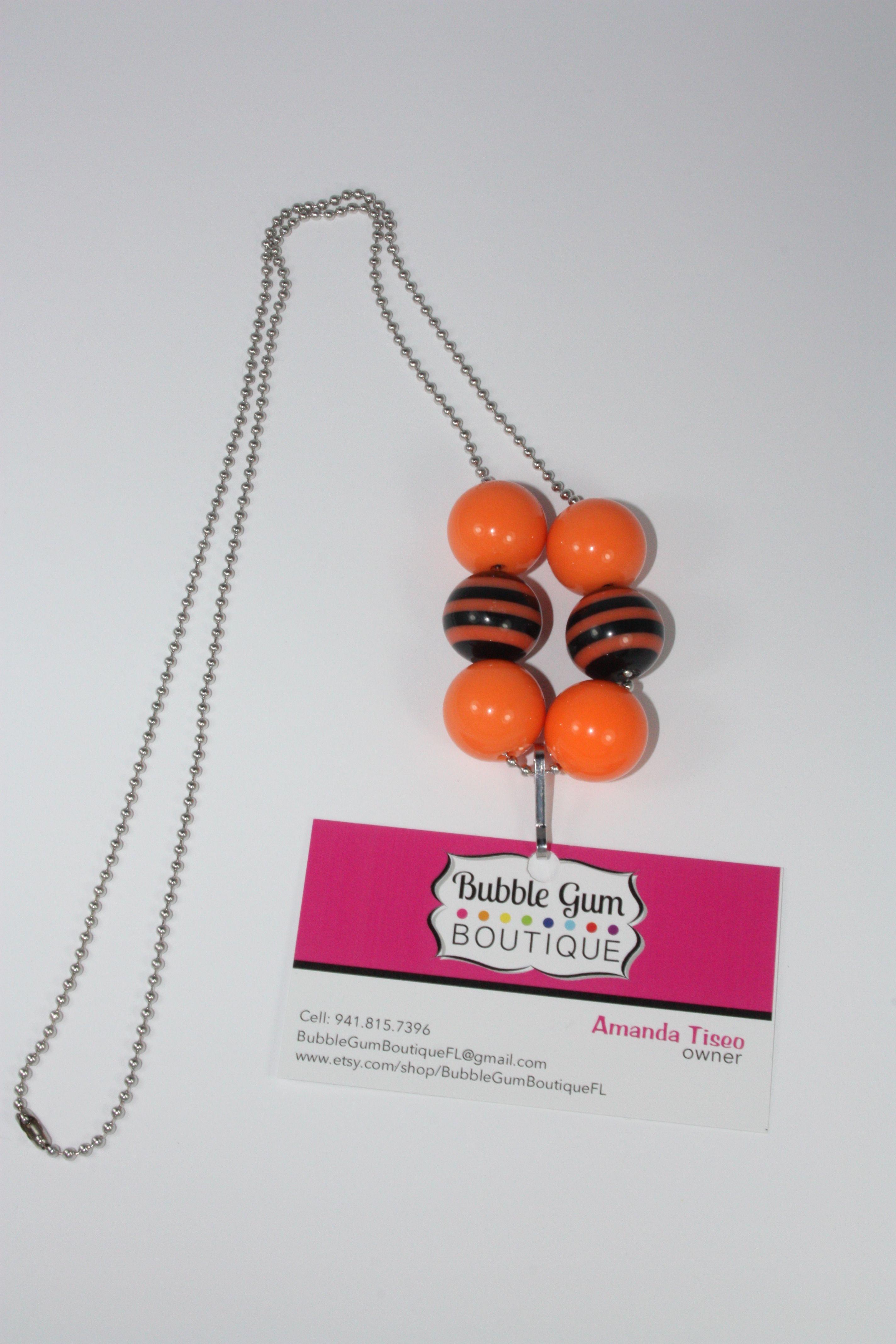 Bubble Gum Bead Lanyard www.facebook.com/bubblegumboutiquefl ...