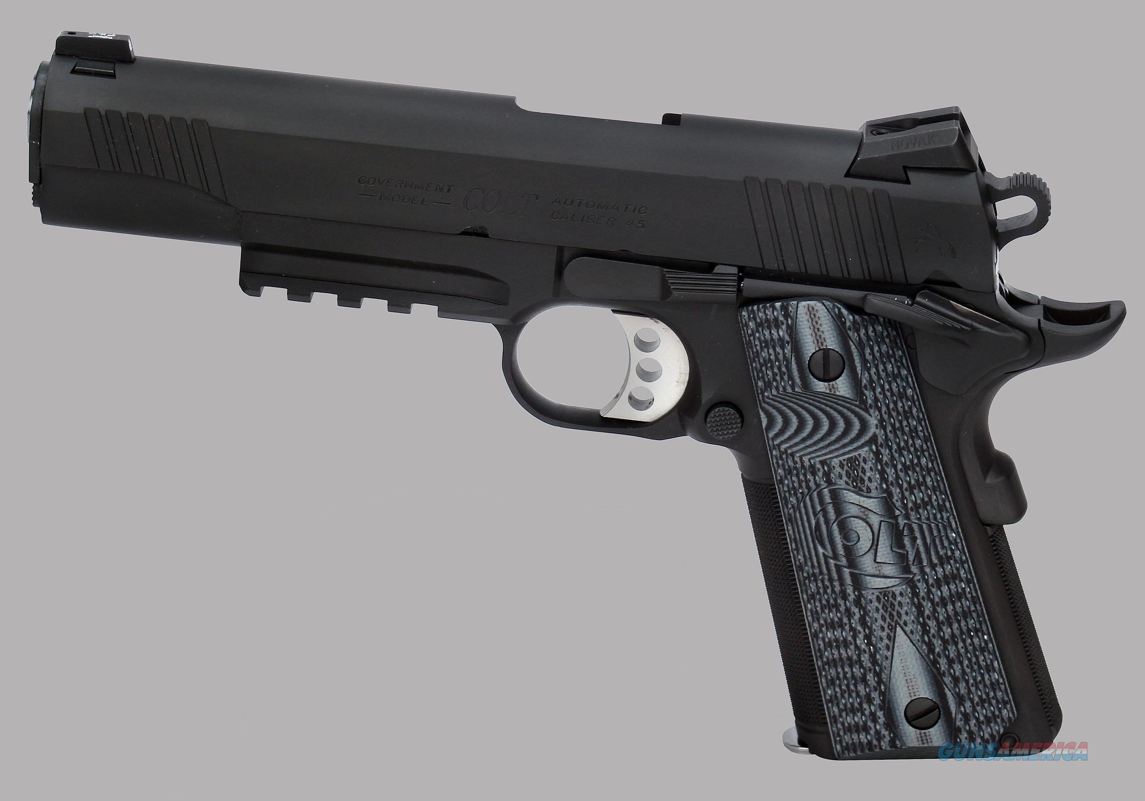 Colt 45acp Government Combat Unit Pistol for sale