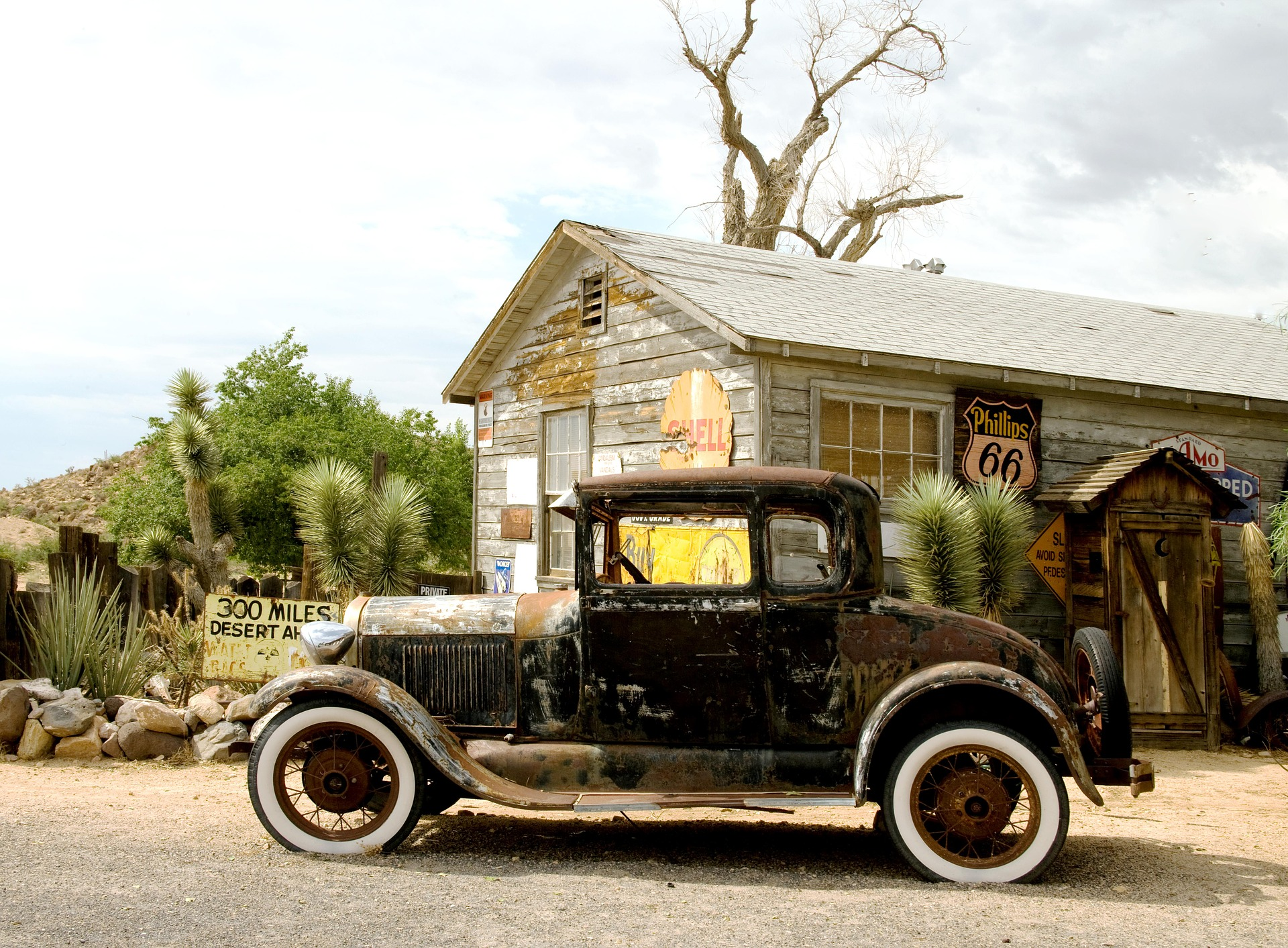 Hackberry general store photo