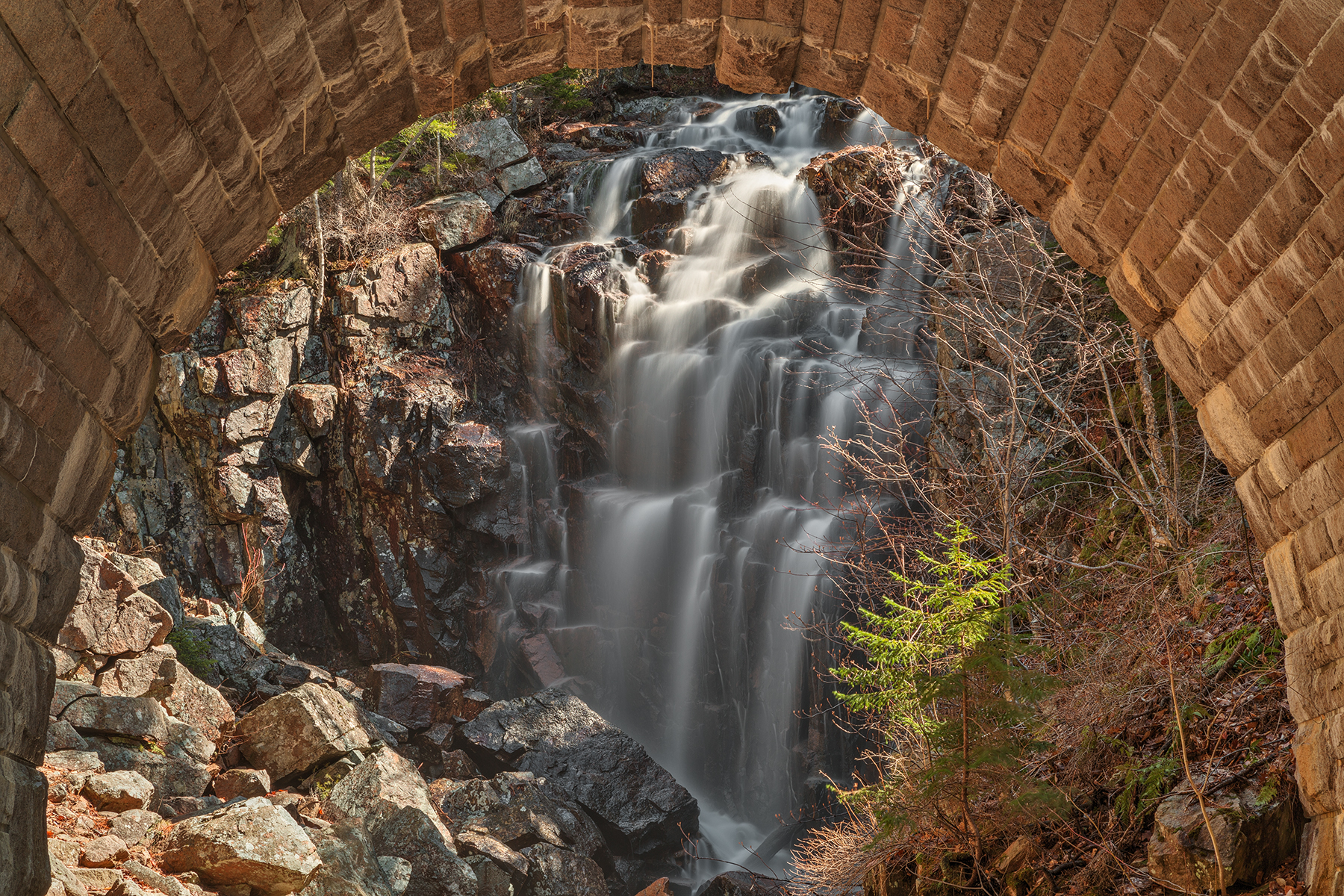 Hadlock arch falls - hdr photo
