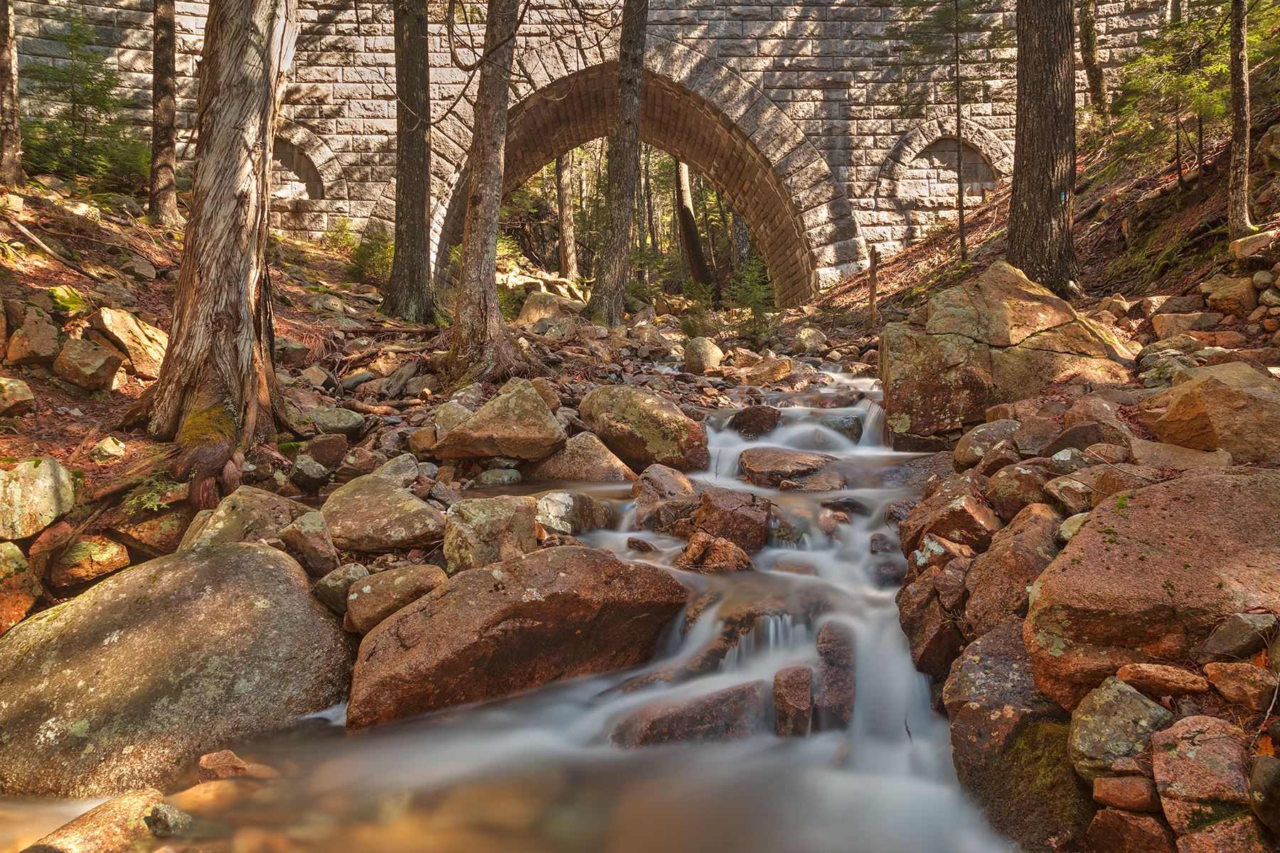 Hadlock bridge brook - hdr photo