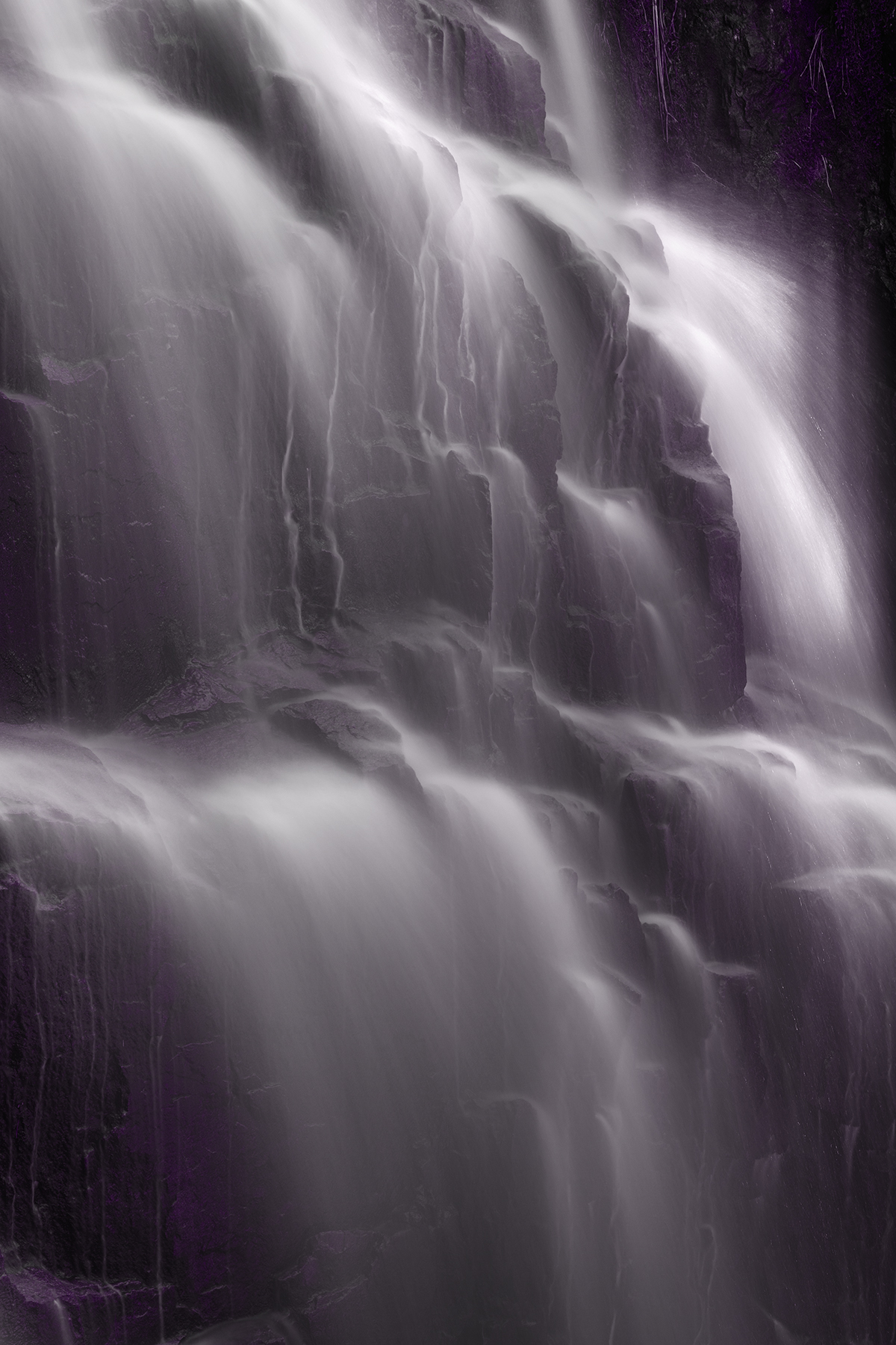 Hadlock nightshade falls - hdr photo