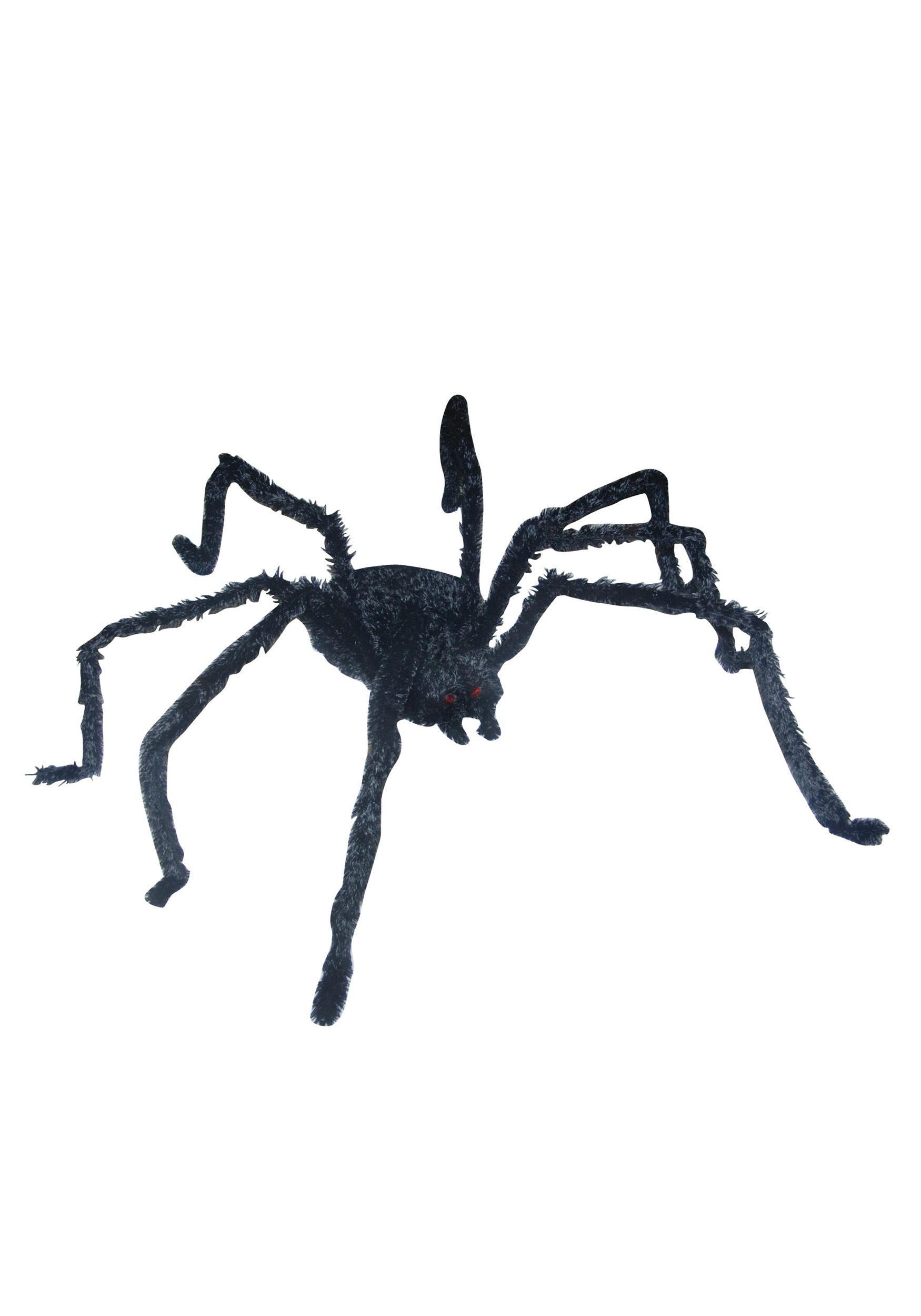 Giant Lightup Long Hairy Spider