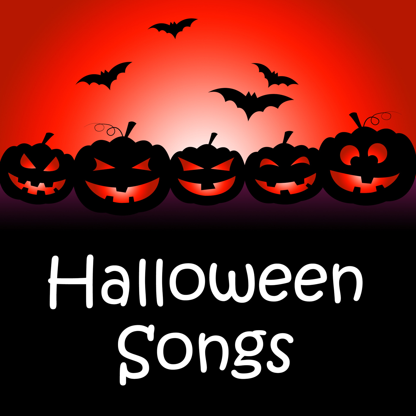 Halloween songs indicates trick or treat and autumn photo