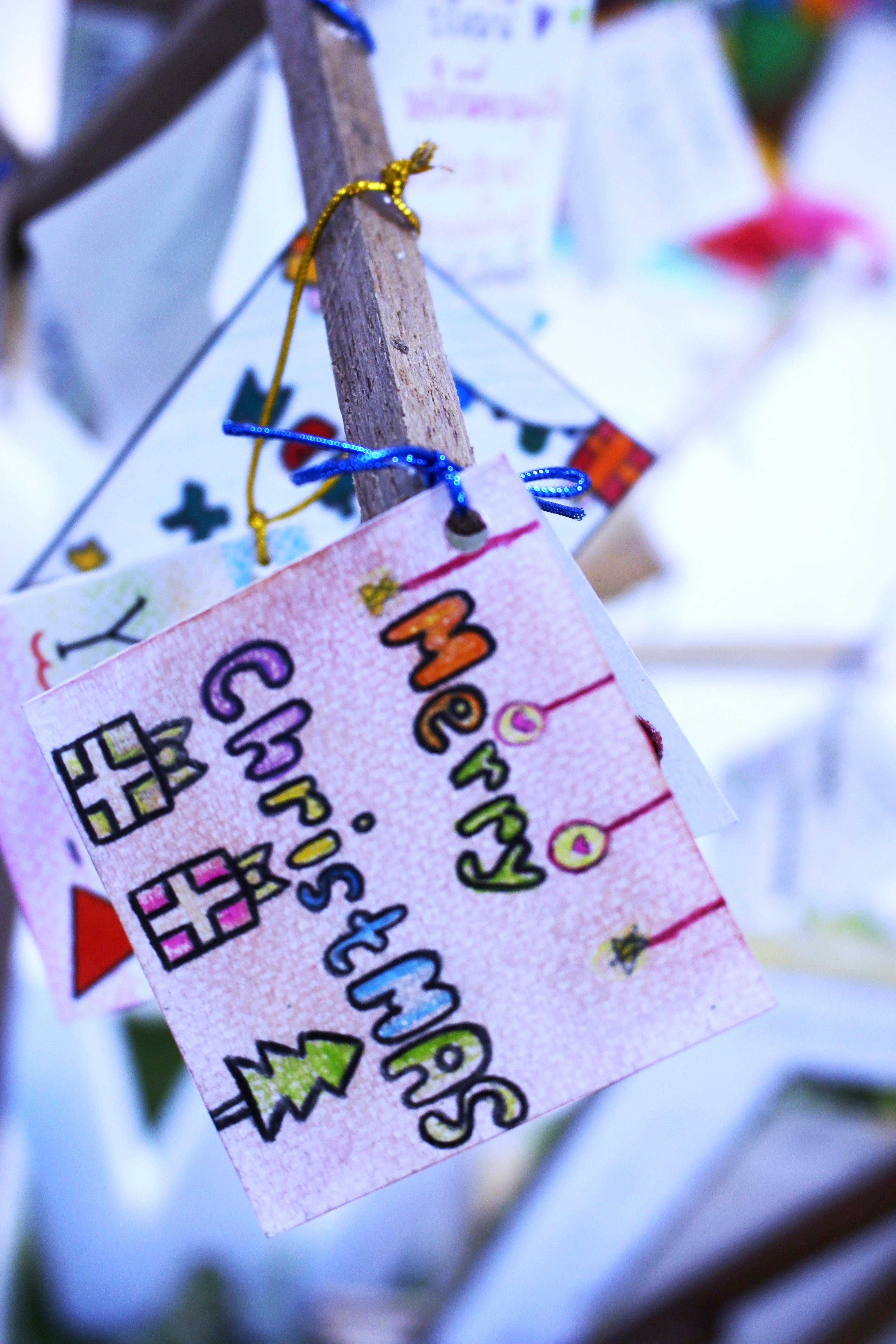 Hand drawn Christmas Card, Art, Happynewyear, Xmas, X-mas, HQ Photo