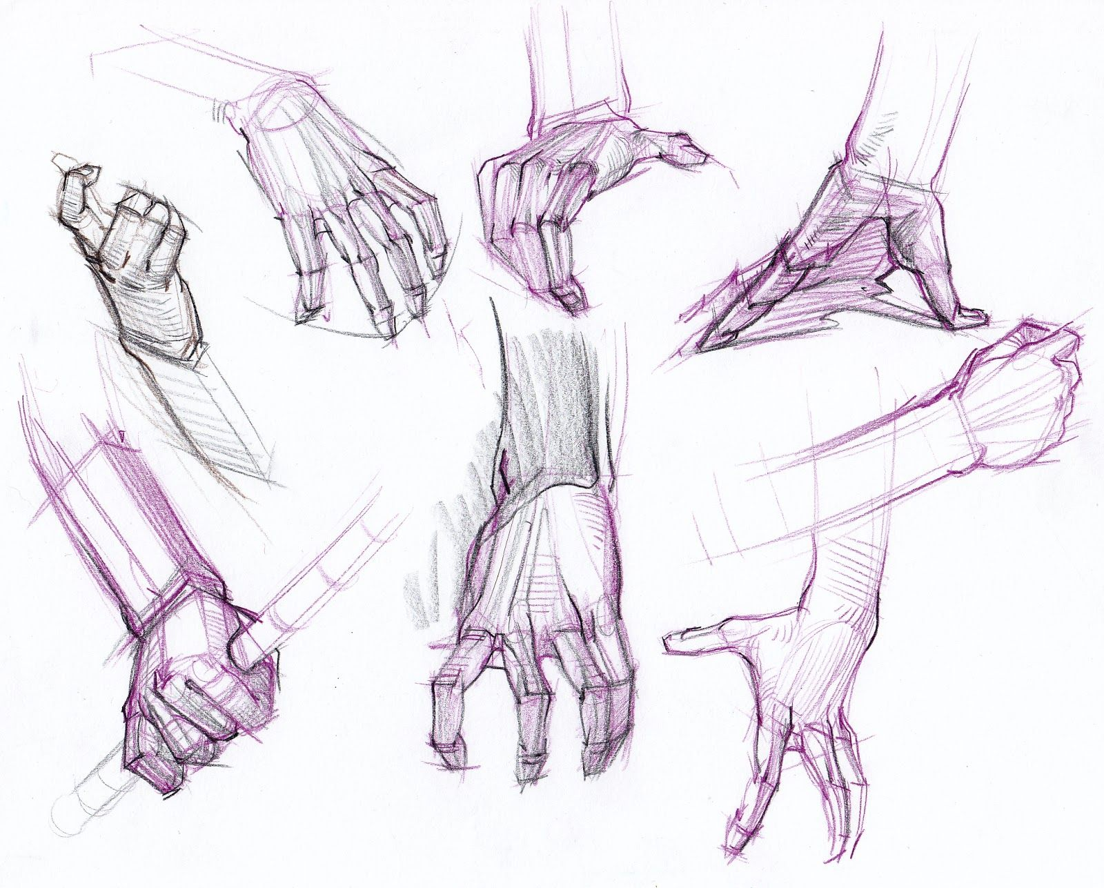 Hands Figure Drawing at GetDrawings.com | Free for personal use ...