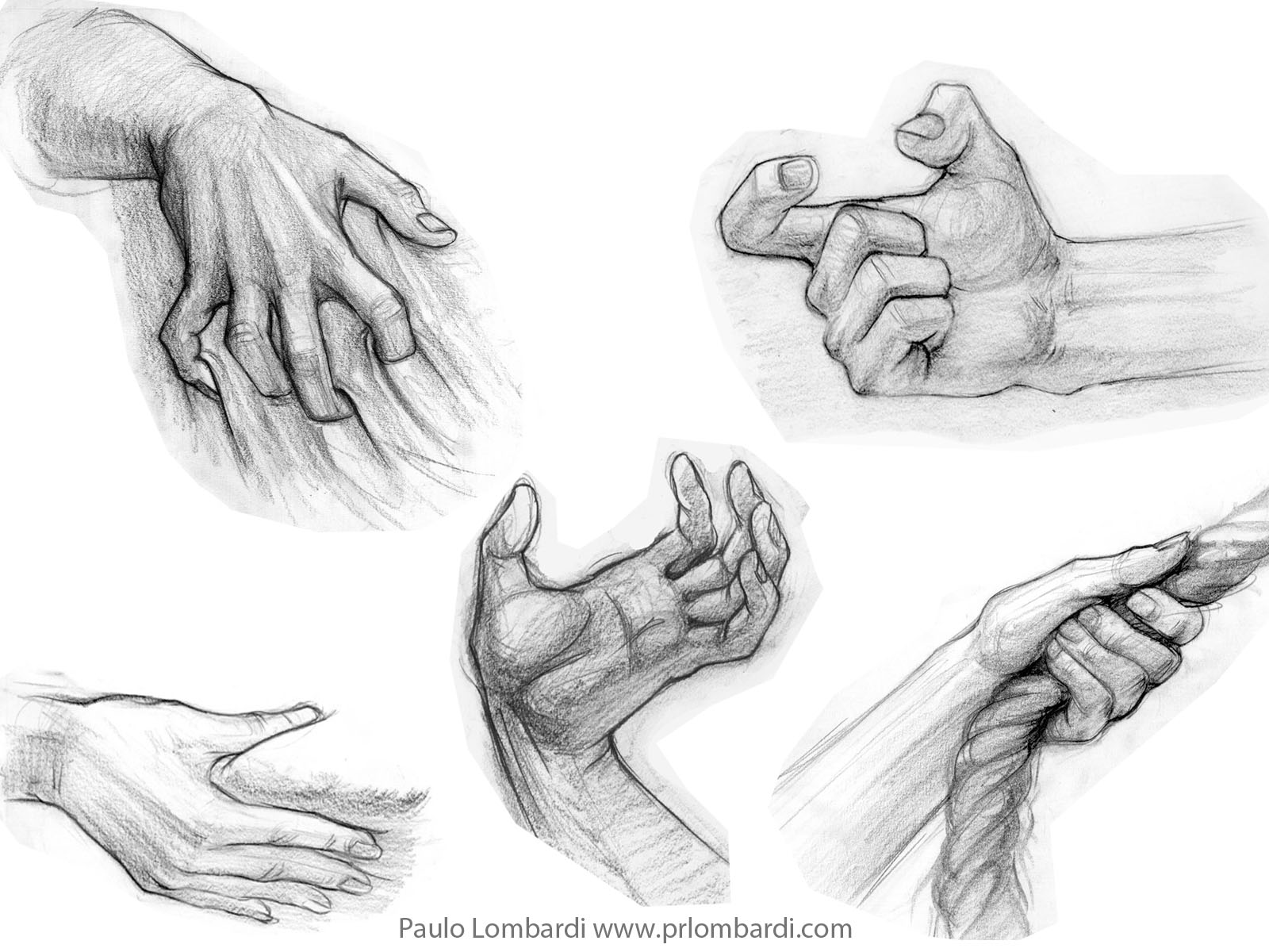Hand Figure Drawing - ClipartXtras