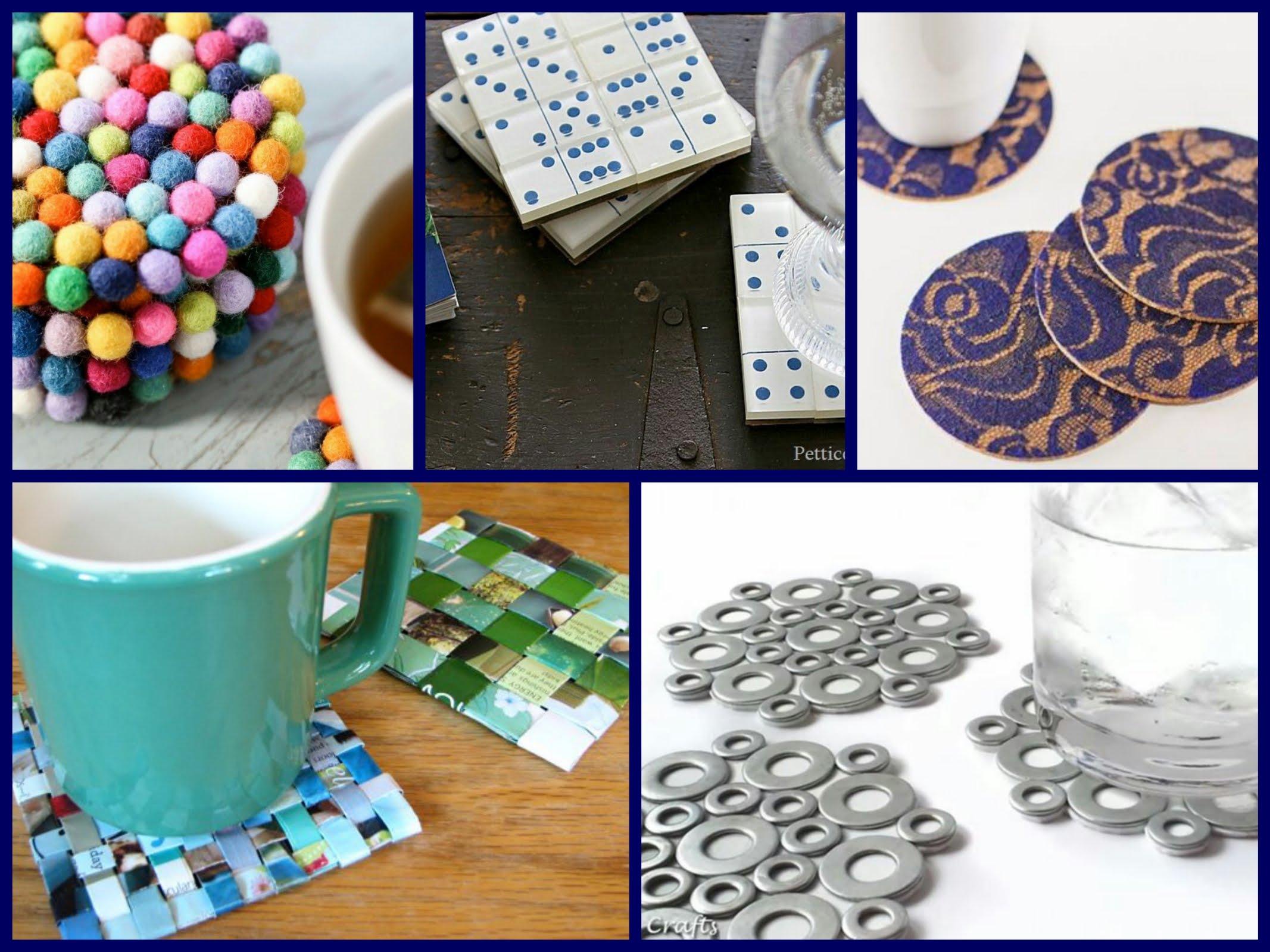 30+ DIY Coasters Decorating Ideas - Handmade Home Decor - YouTube