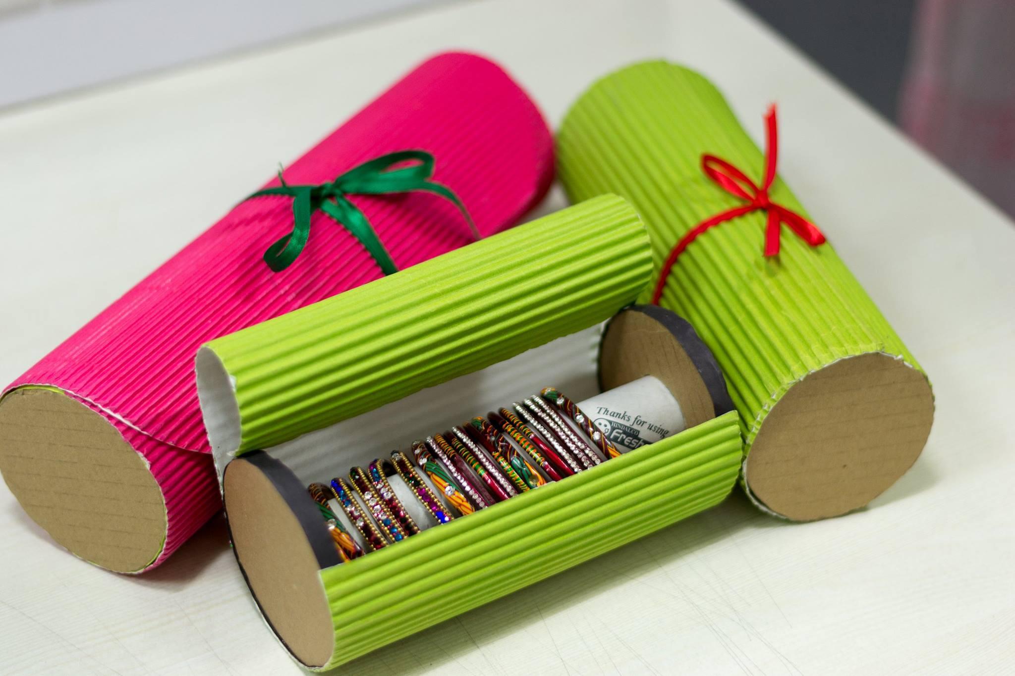Handmade bangle box | Tiny Droplets