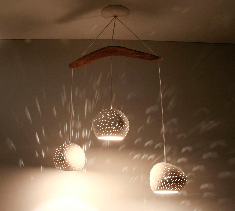lighting : Handmade Paper Lamp Shades Shade Mache Diy Parchment ...