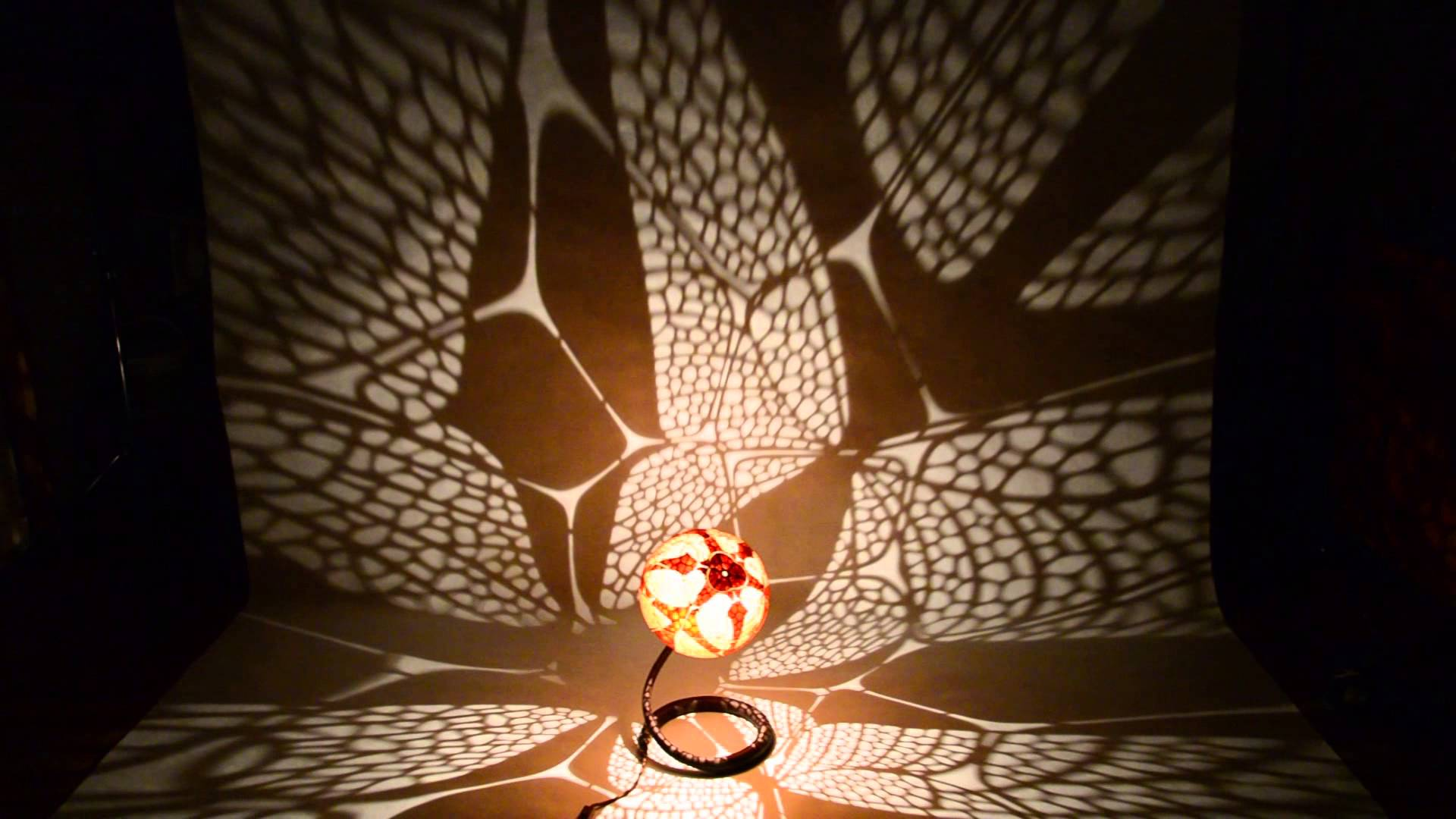 Handmade Butterfly Gourd Lamp by Calabarte and Moving Shadows ...