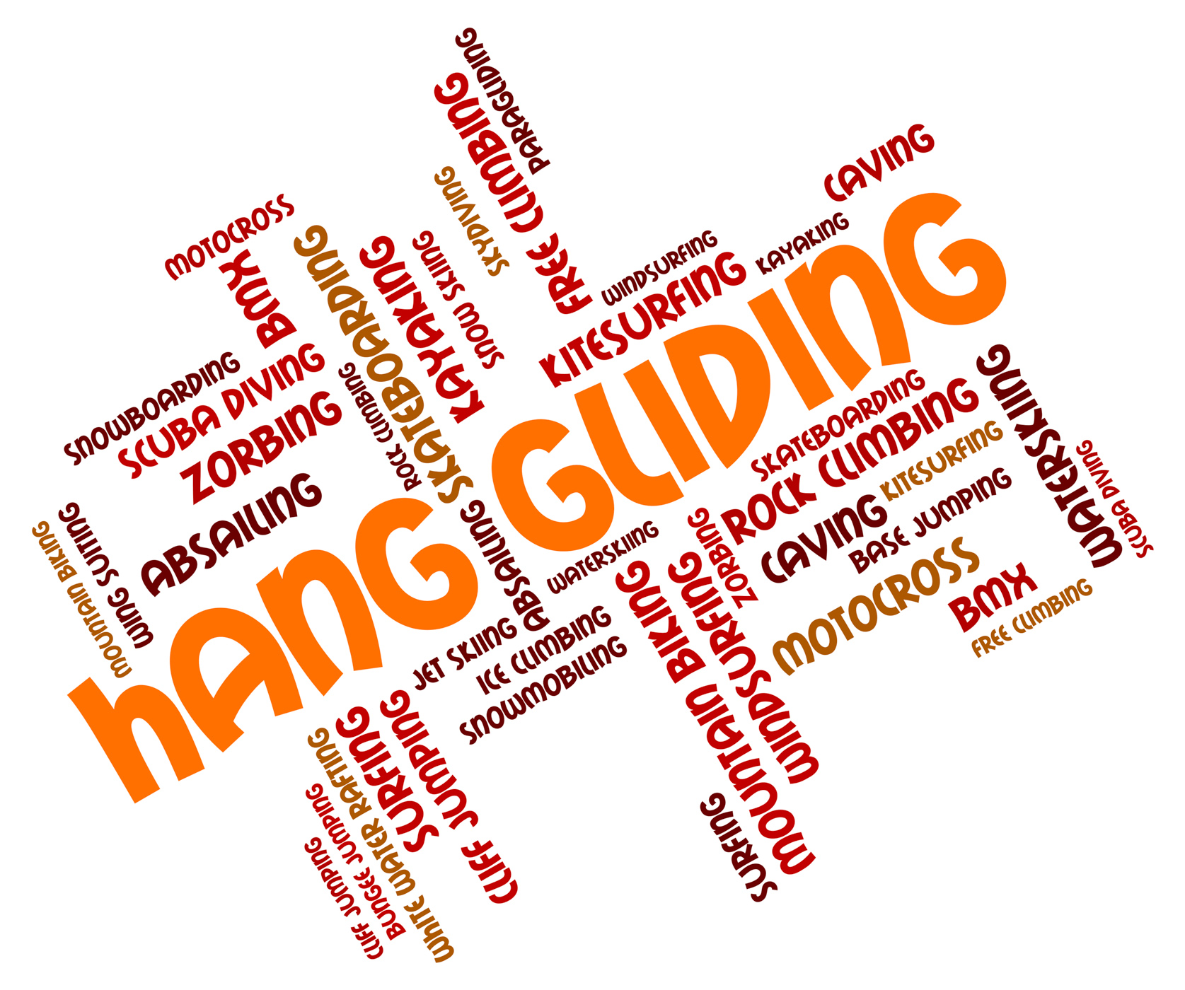 Hang Gliding Means Hanggliders Words And Glide, Glide, Glider, Hang, Hang-glider, HQ Photo