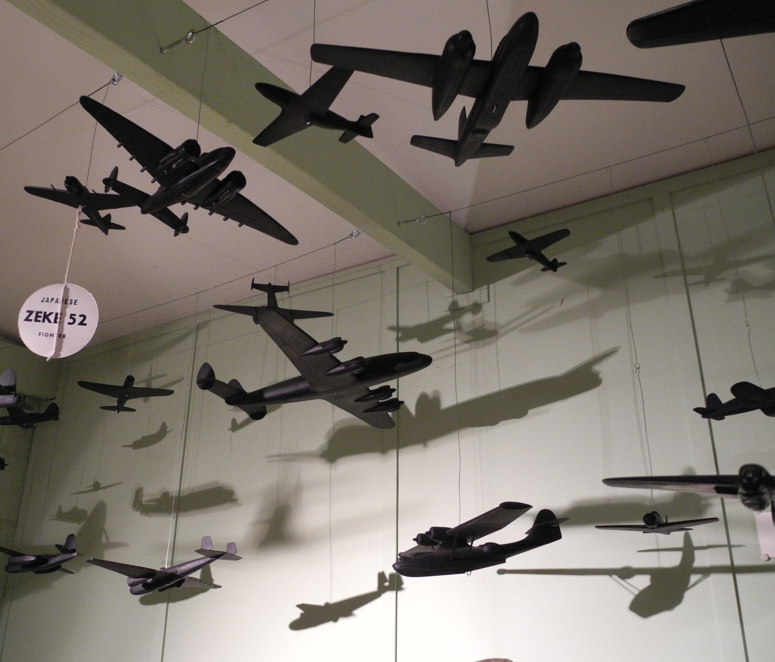 Free Photo Hanging Airplane