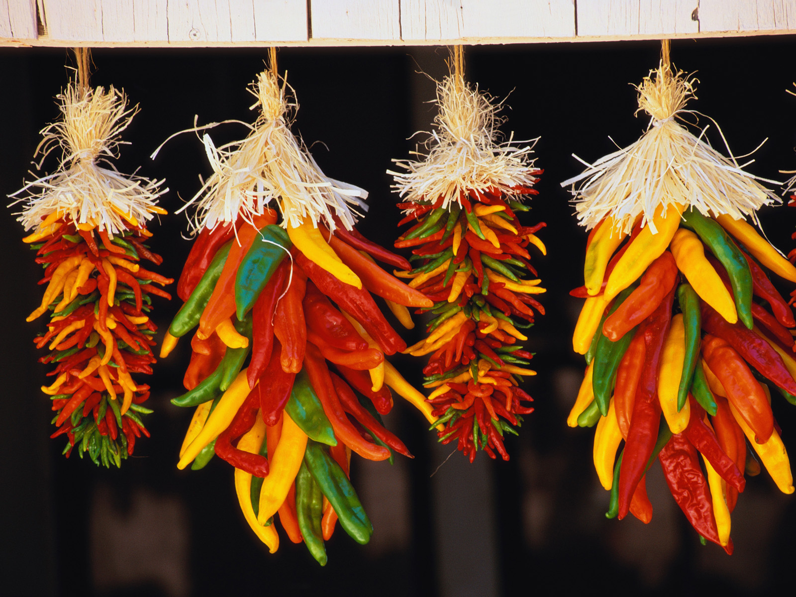 Hanging Chili Peppers, Hatch, New Mexico   Our Beautiful World ...