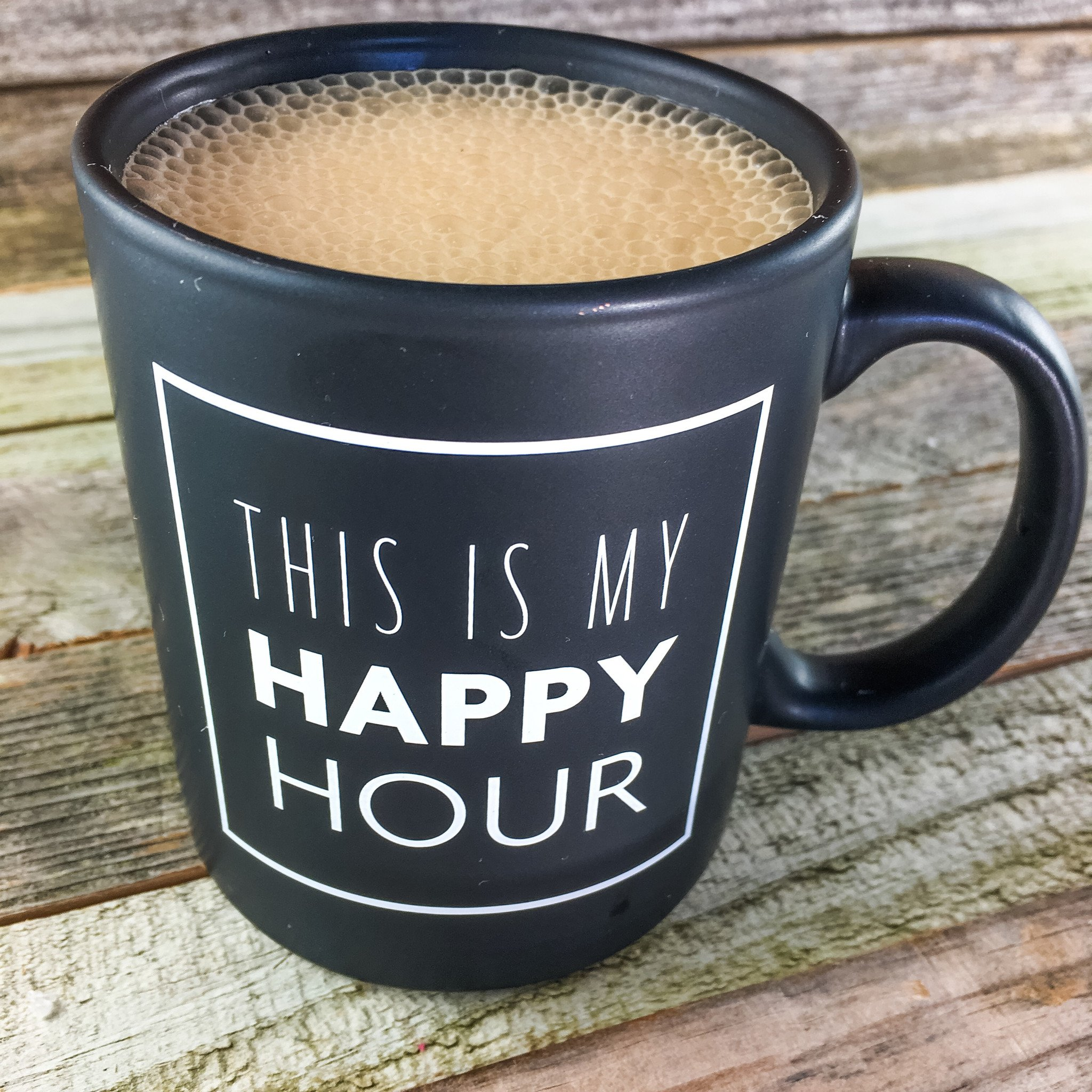 this is my happy hour: coffee mug | fitlosophy