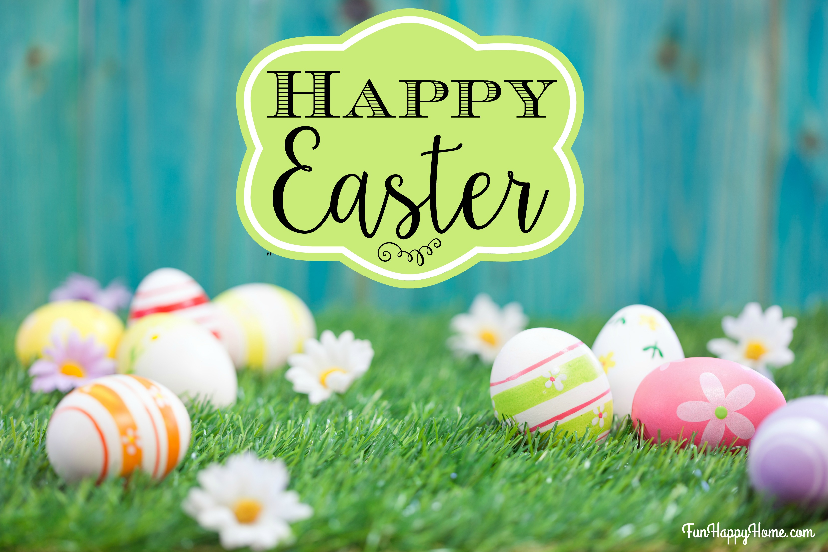 Happy Easter - Fun Happy Home