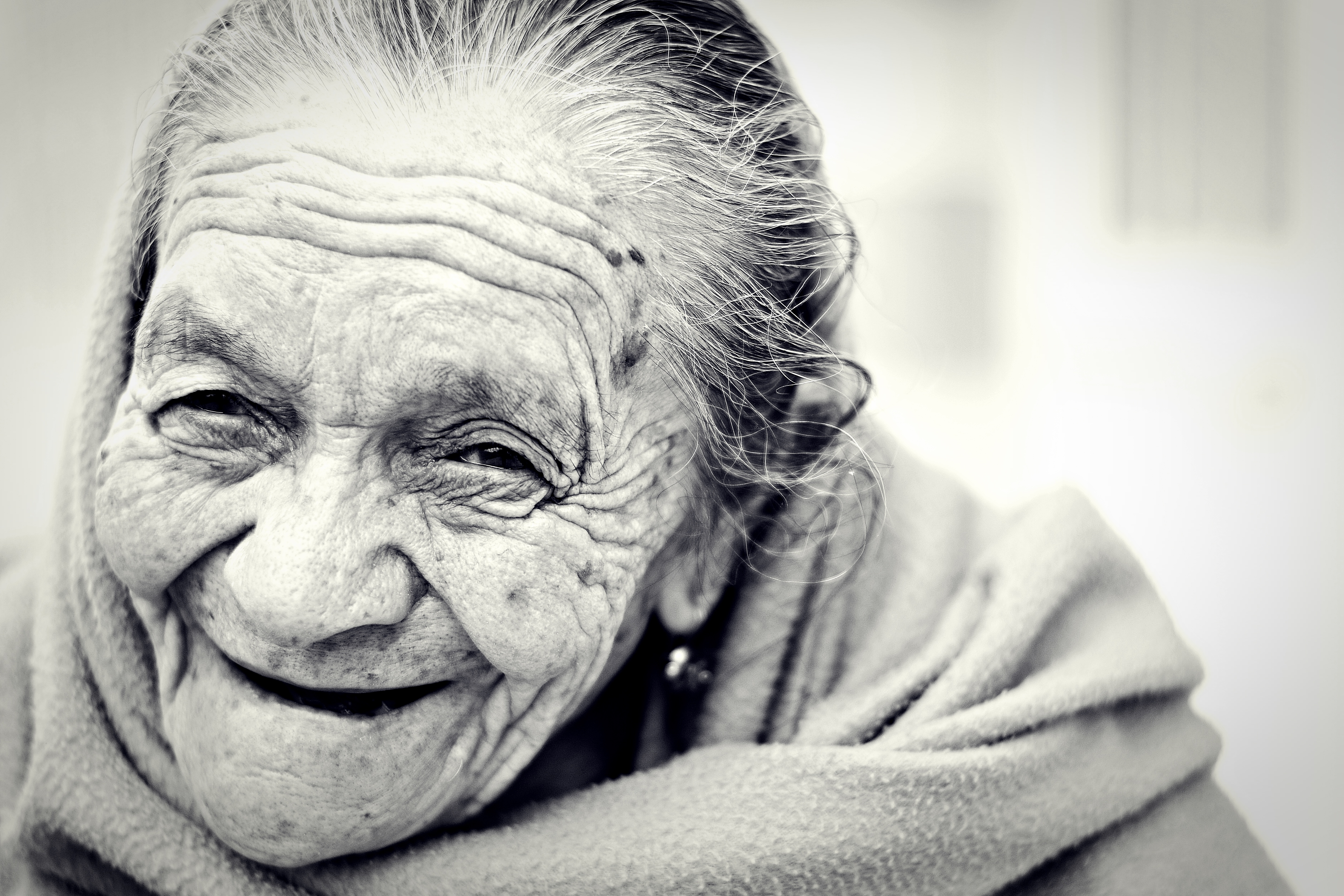 Happy Old Woman, Aged, Elderly, Happy, Old, HQ Photo