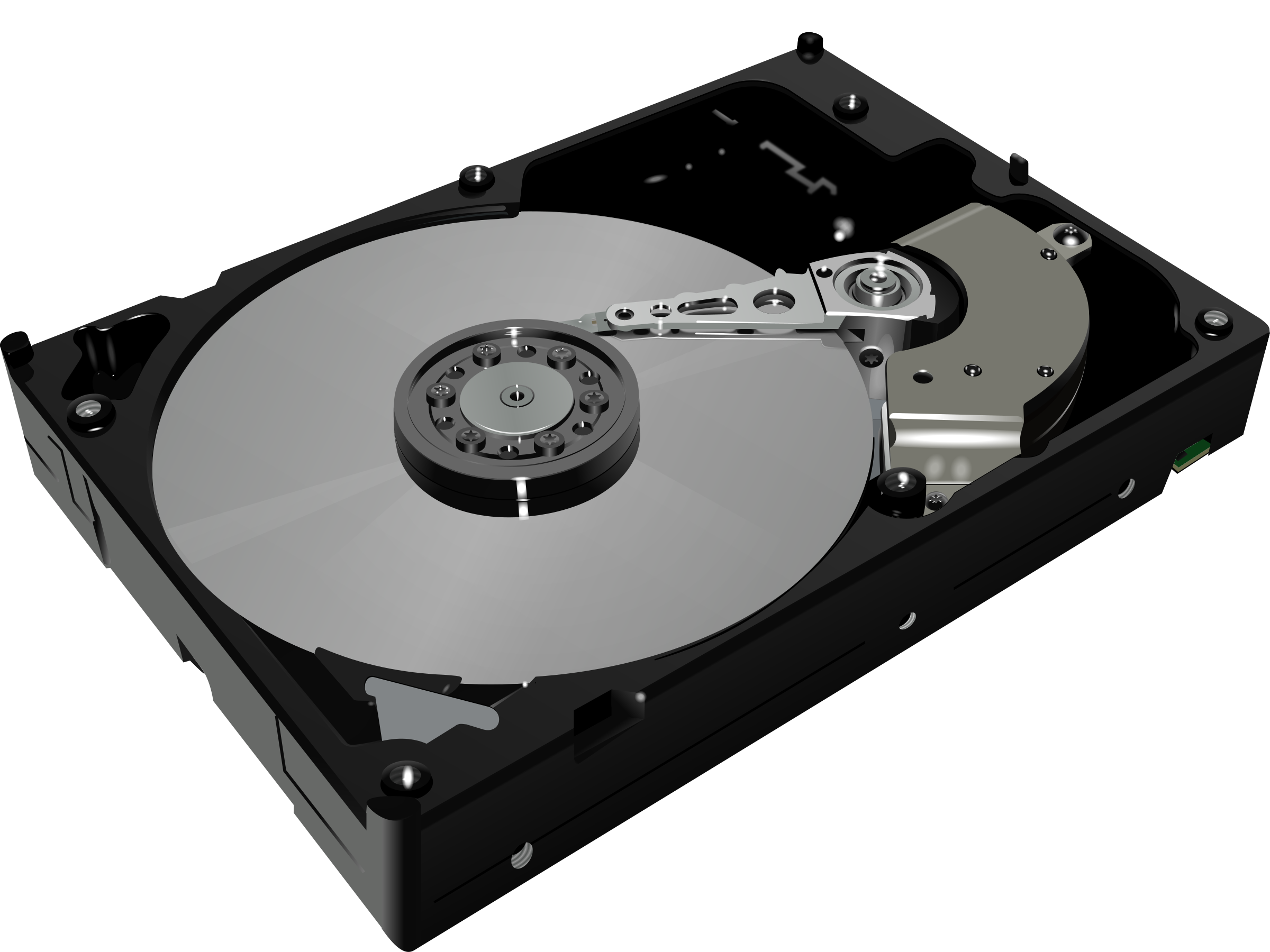 Clipart - Hard disk drive