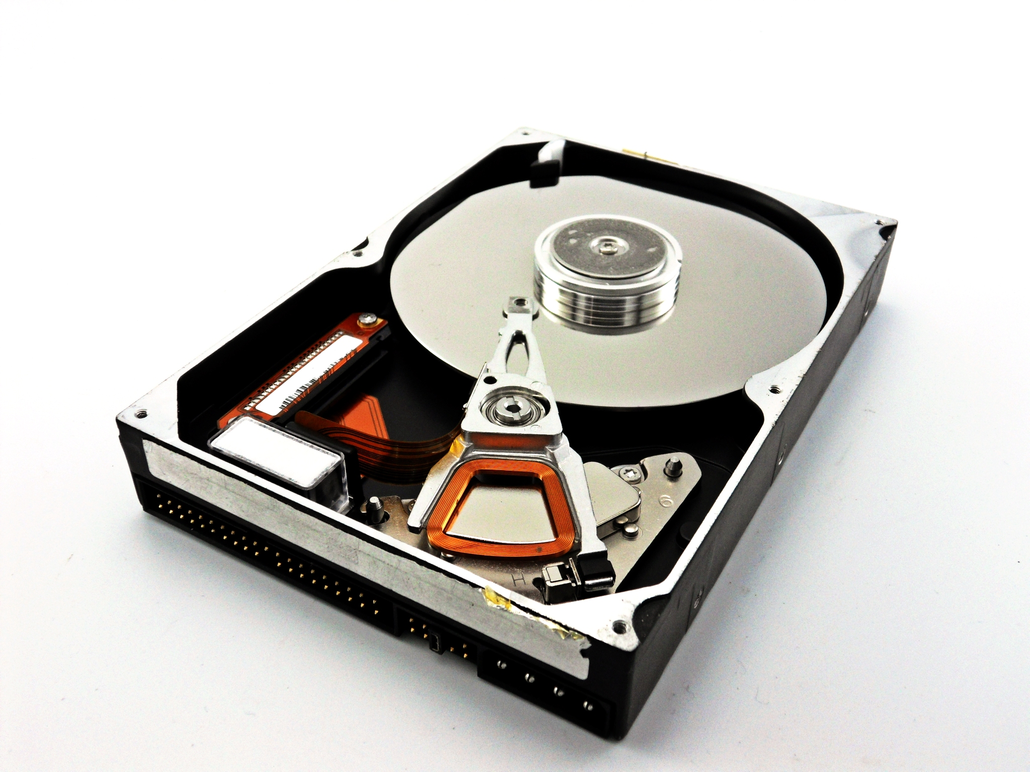 Hard disk drive, Archive, Memory, Opened, Open, HQ Photo