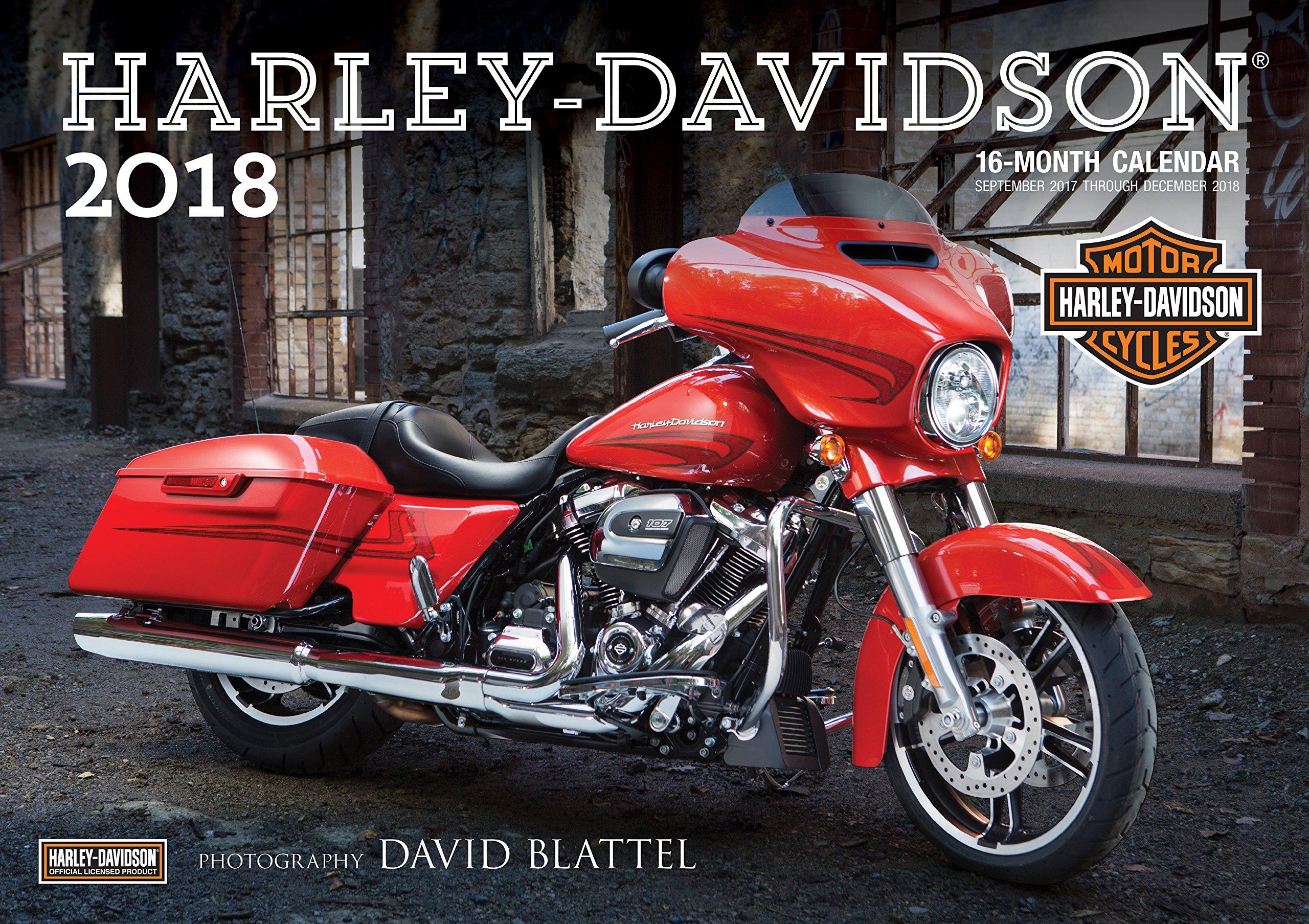 Harley-Davidson(r) 2018: 16-Month Calendar Includes September 2017 ...