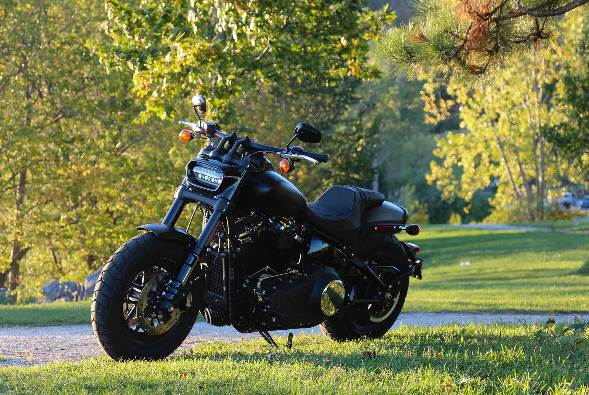 Review: 2018 Harley-Davidson Fat Bob • Gear Patrol