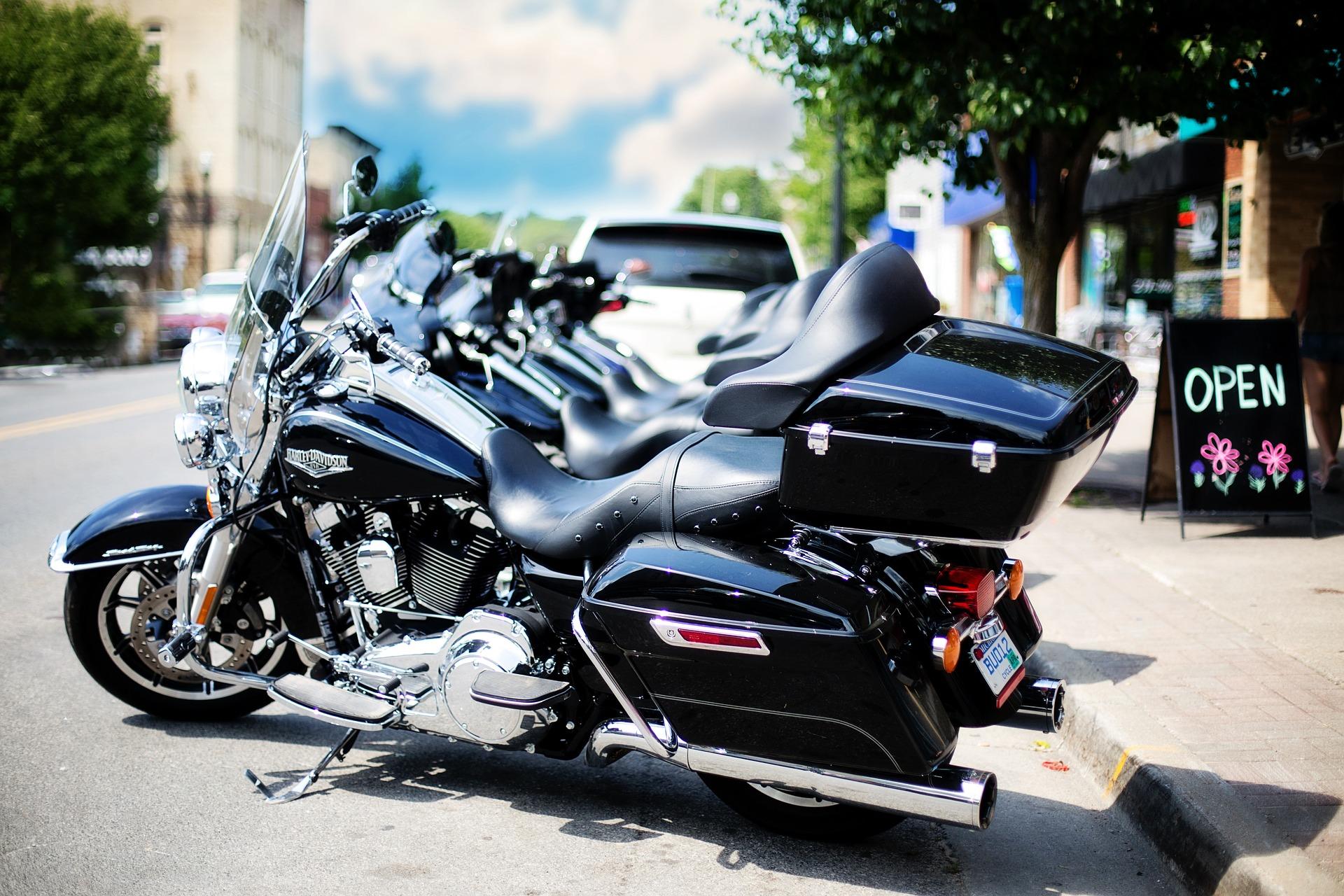 Harley Davidson, Bike, Black, Davidson, Harley, HQ Photo
