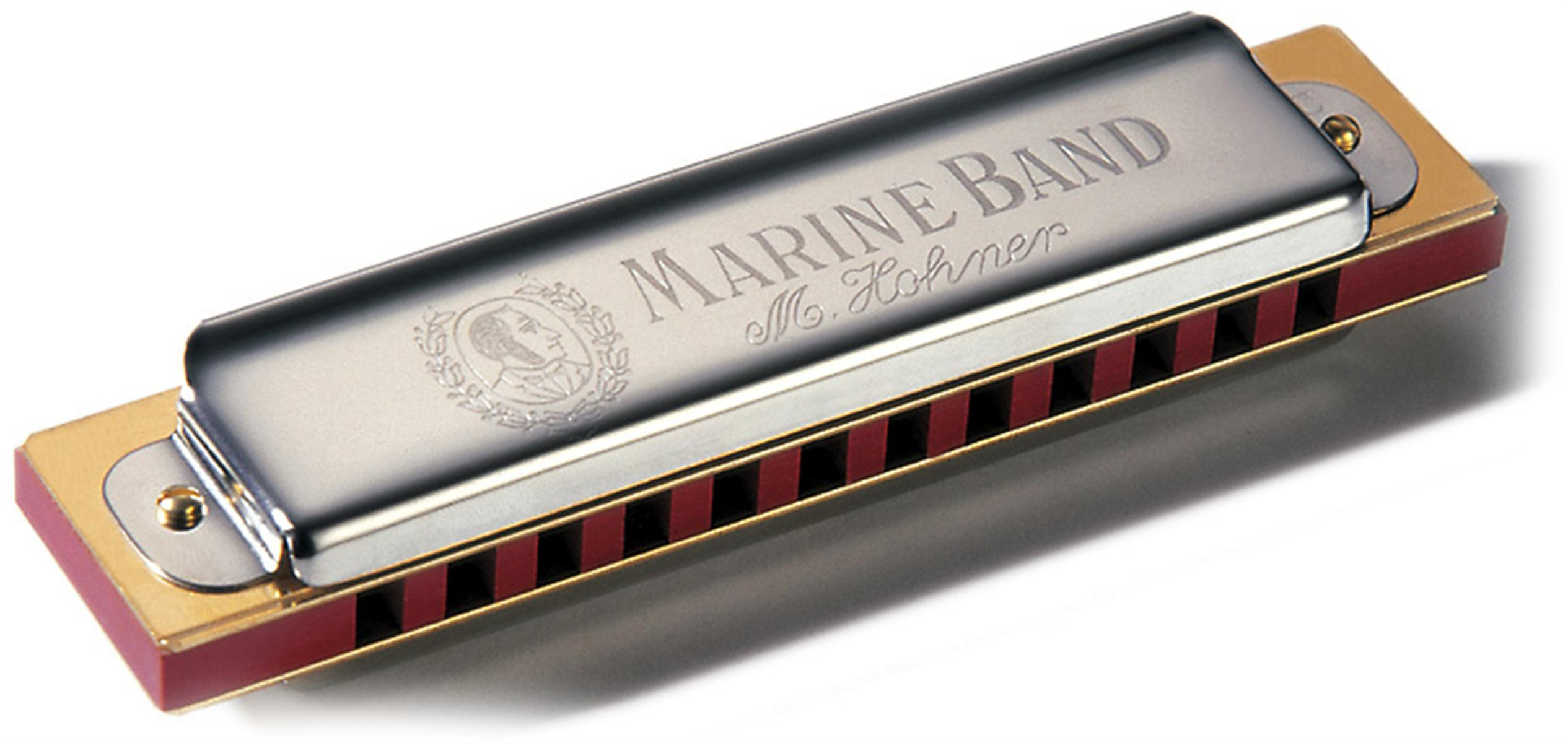 Hohner Marine Band Diatonic Harmonica - Key of G Major and more ...