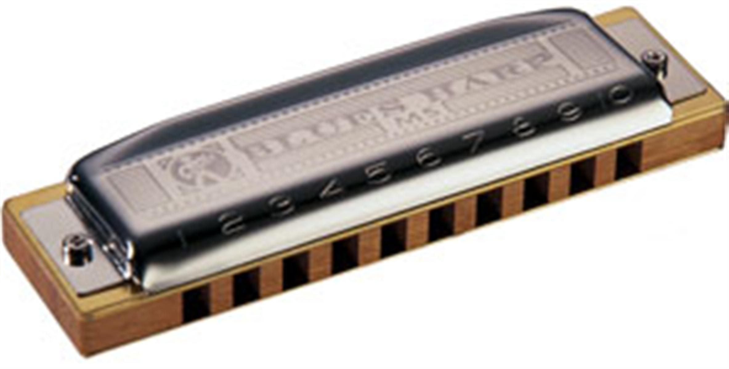 Hohner Blues Harp MS Modular System Diatonic Harmonica, F-major and ...