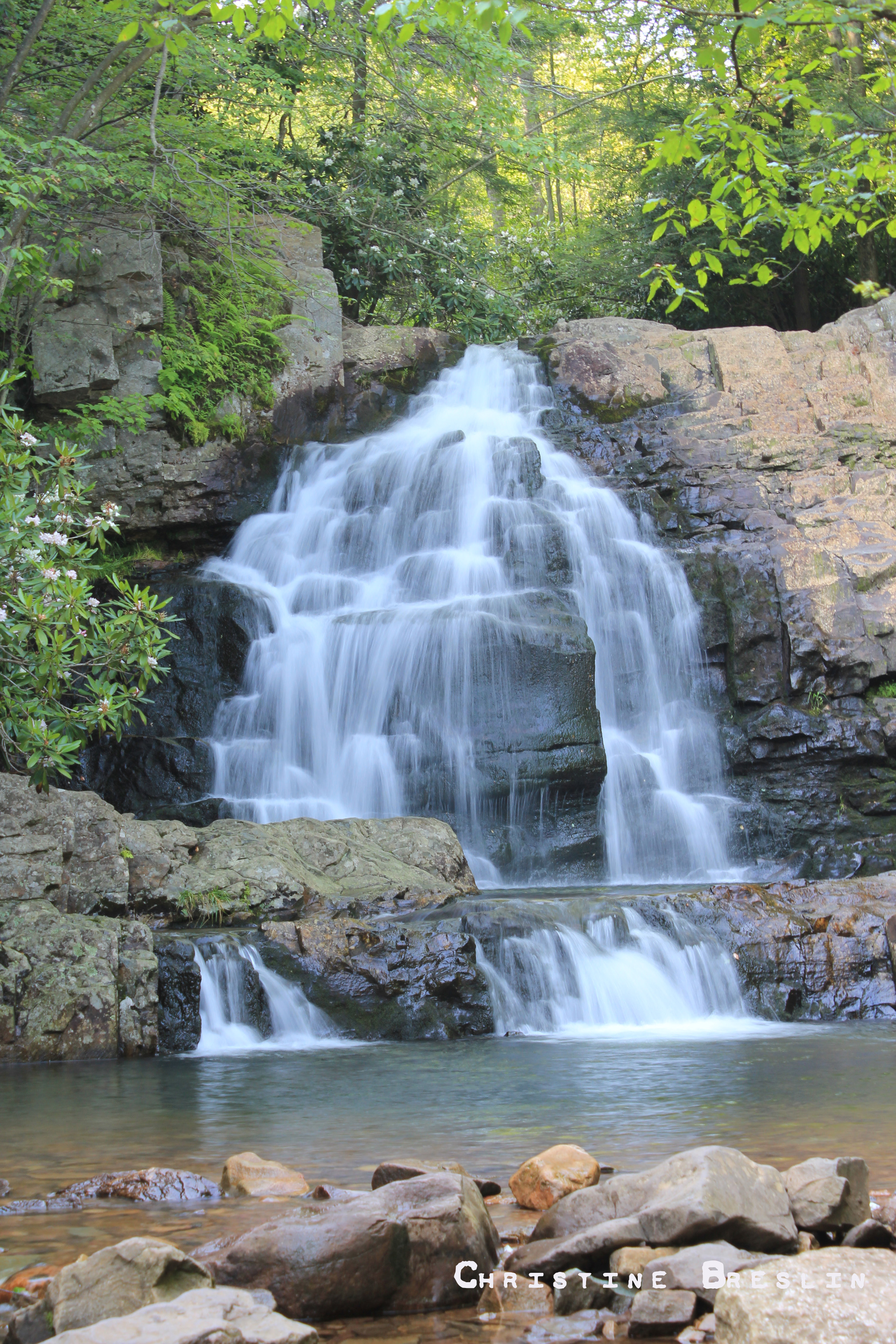 Hawk Falls, Hickory Run State Park (We jumped from the ledges of the ...