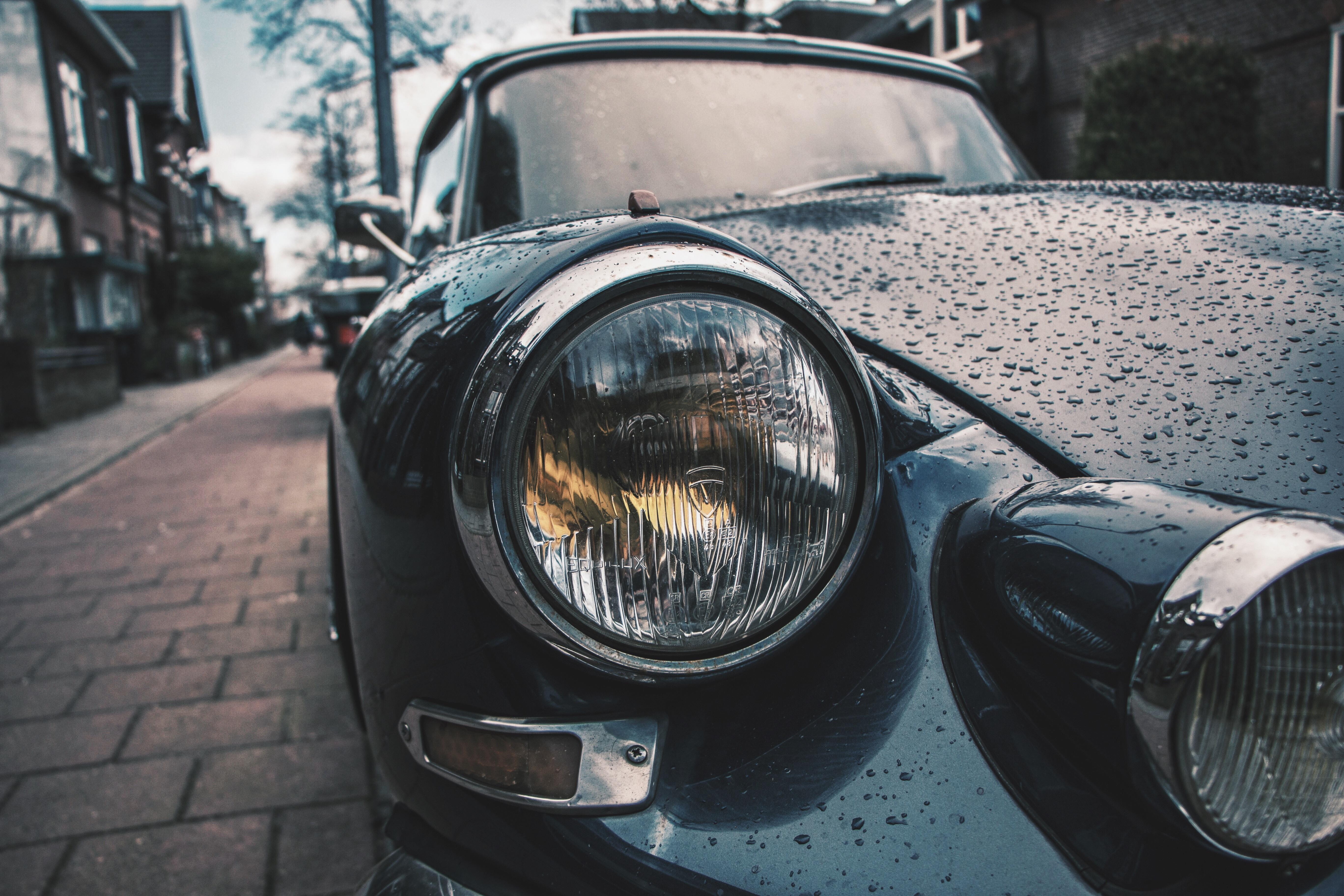 Headlight, Car, Control, Light, Luxury, HQ Photo