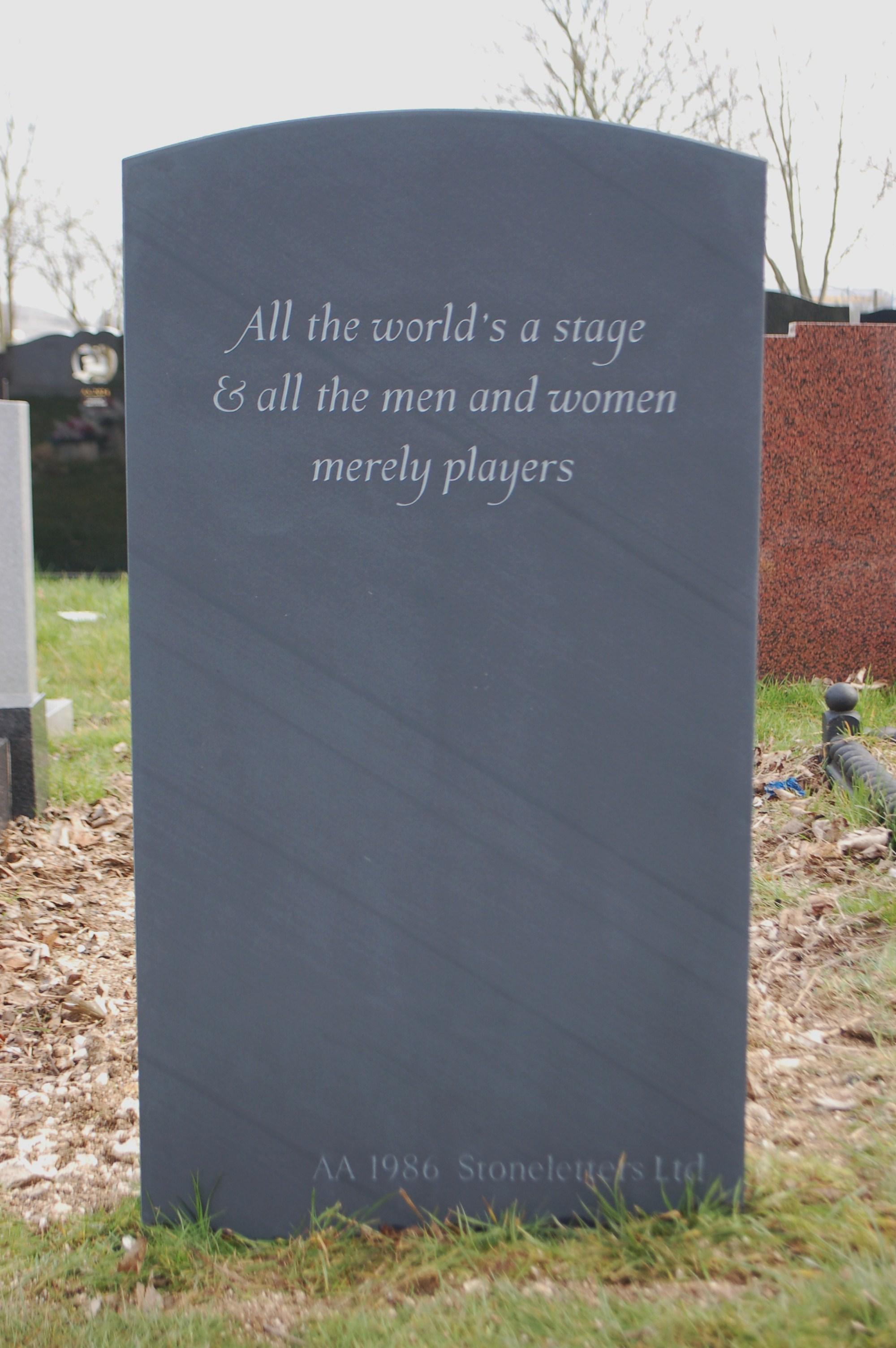 Tasteful Memorial Quotes and Headstone Epitaphs | Blog | Stoneletters
