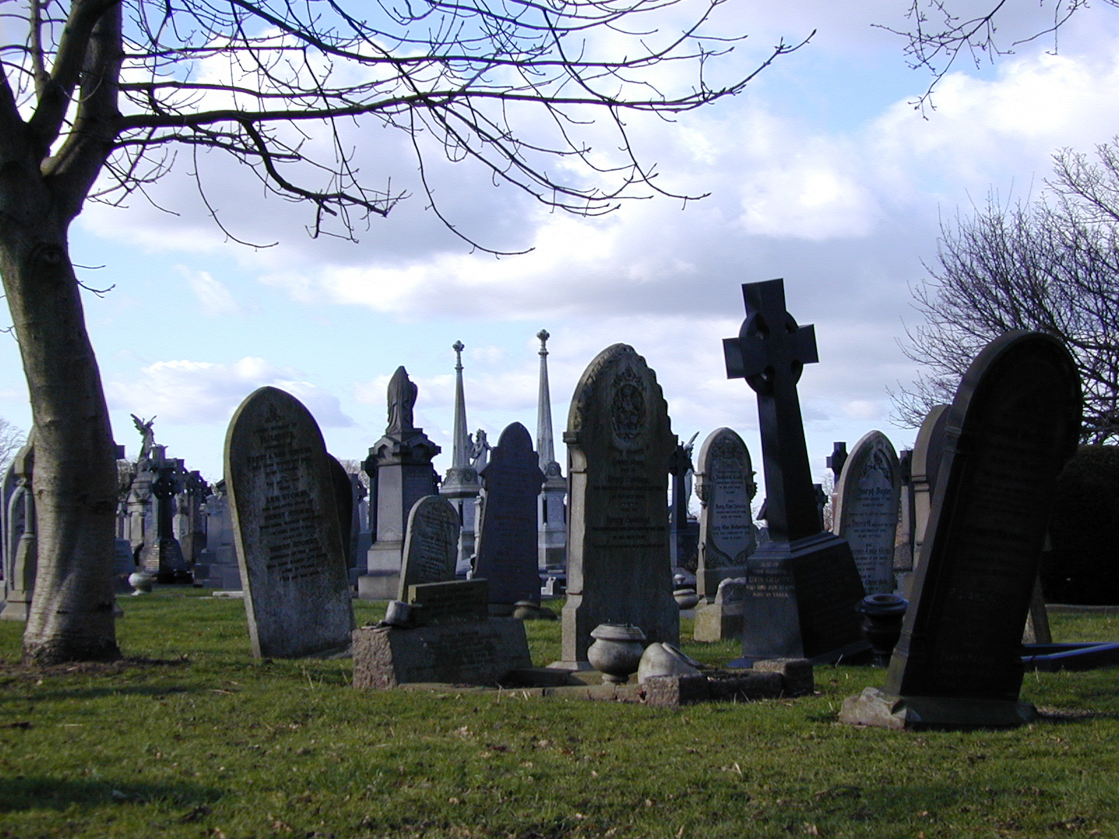 Free photo: Headstones - Buried, Cemetery, Cross - Free Download - Jooinn