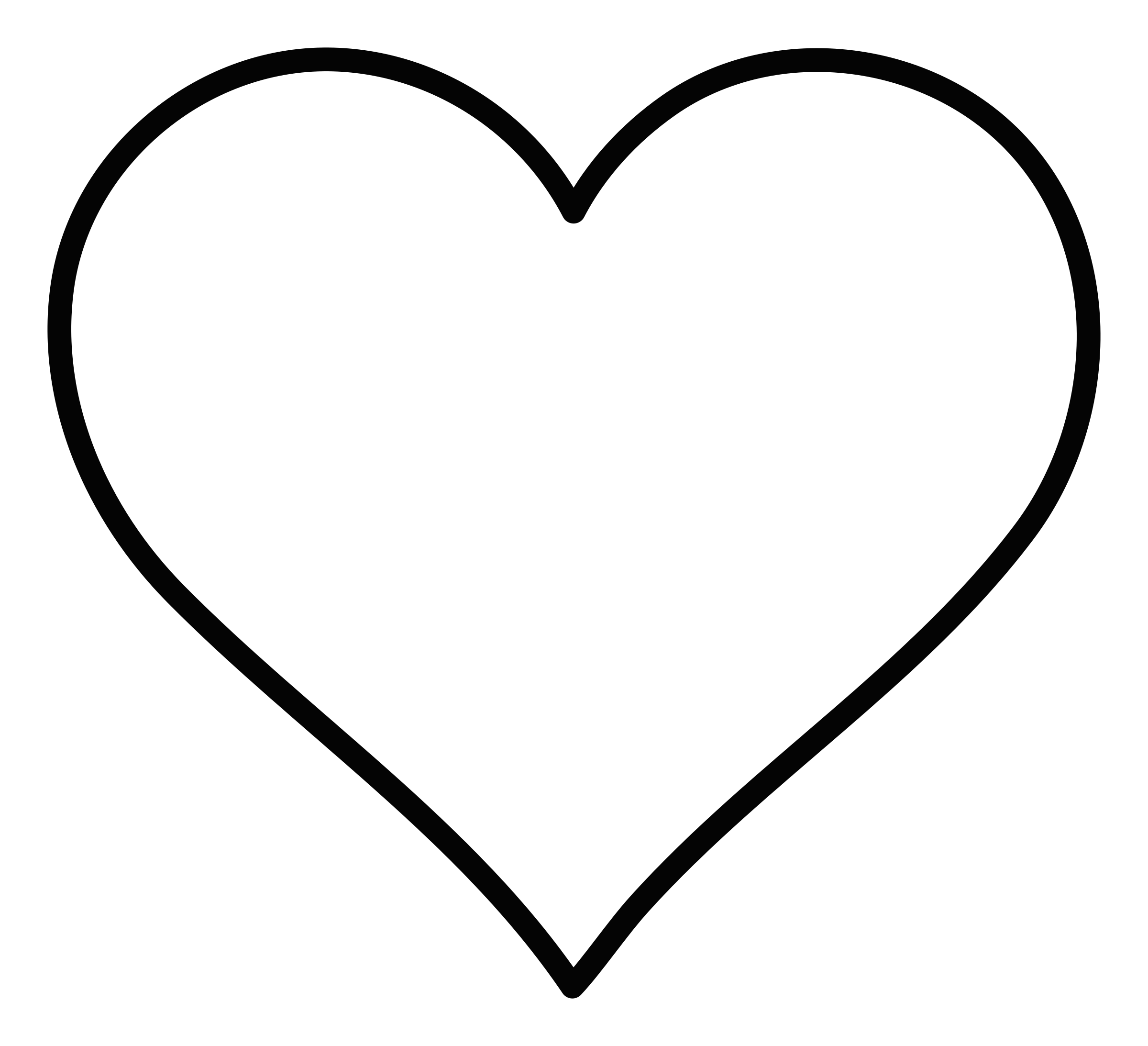 Clipart - Heart outline