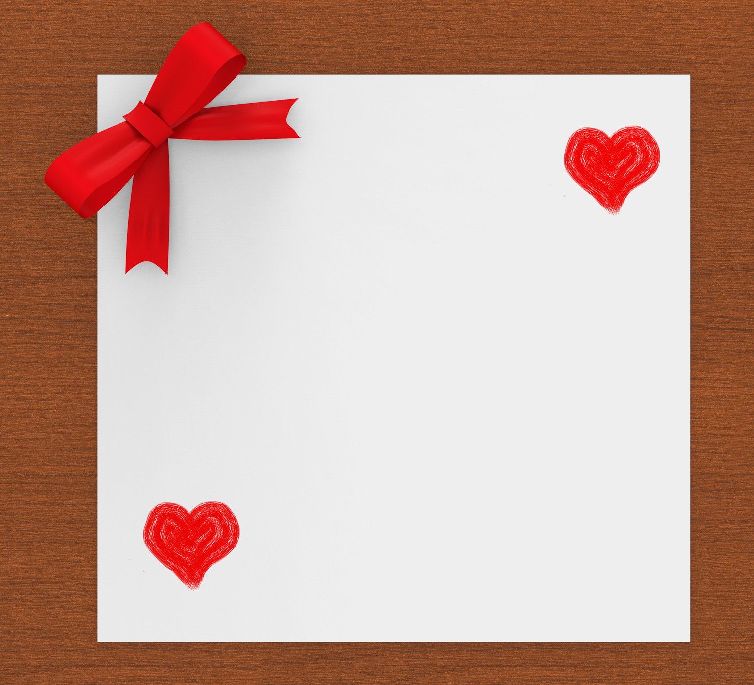 Heart copyspace indicates valentines day and copy-space photo