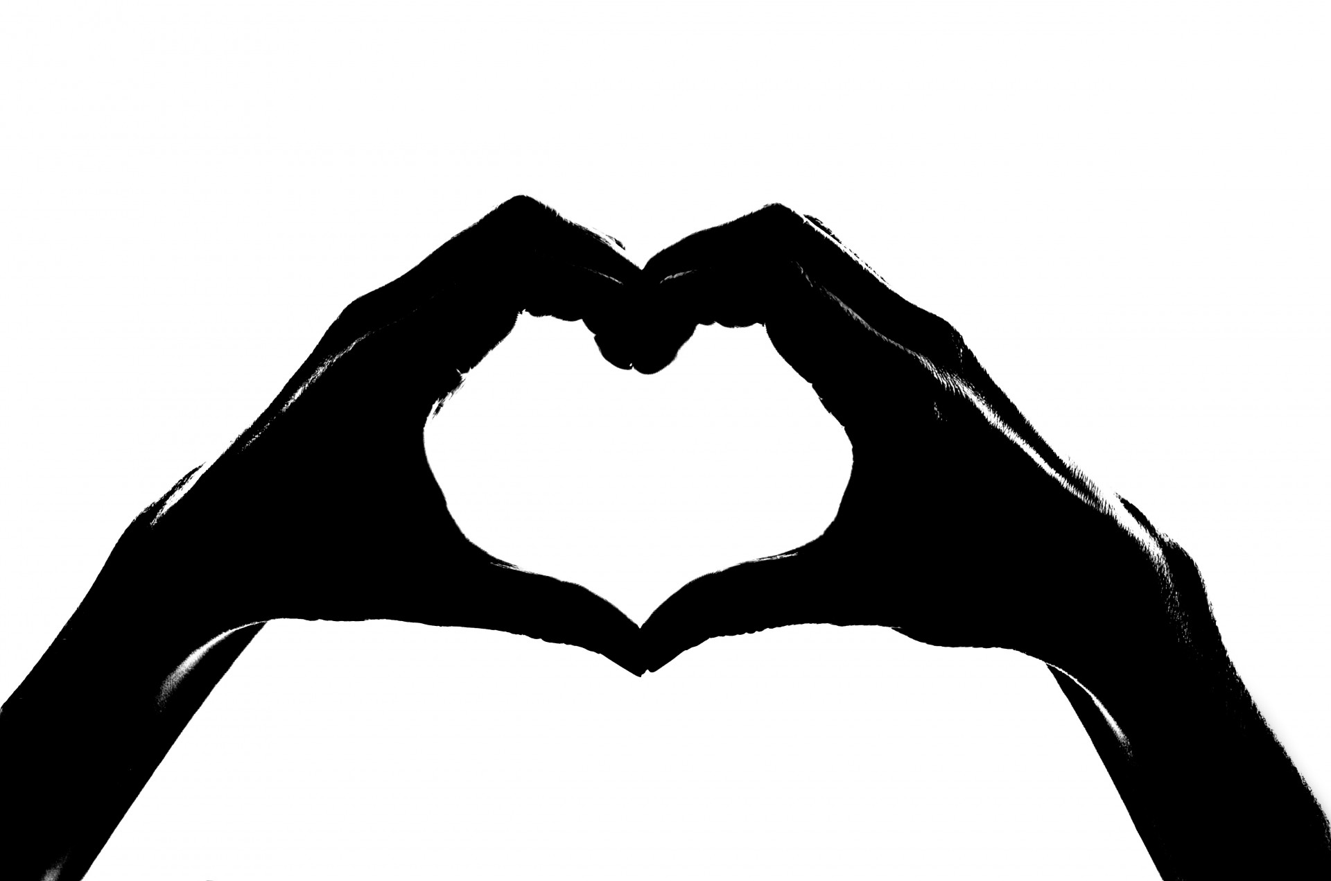 Hands In The Form Of Heart Free Stock Photo - Public Domain Pictures