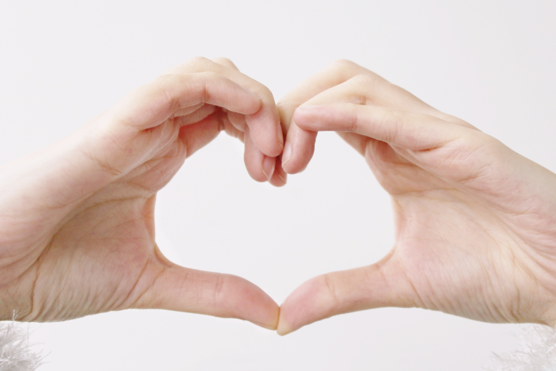 Free Images : hand, woman, female, love, heart, finger, symbol, ear ...