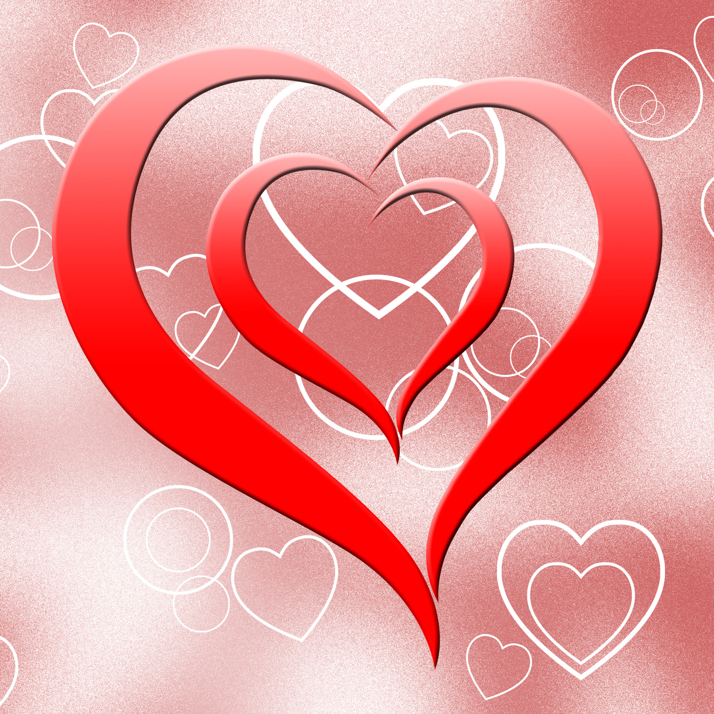 Free Photo Heart On Background Means Romanticism Passion And Love Amour Heart Heartshape Free Download Jooinn