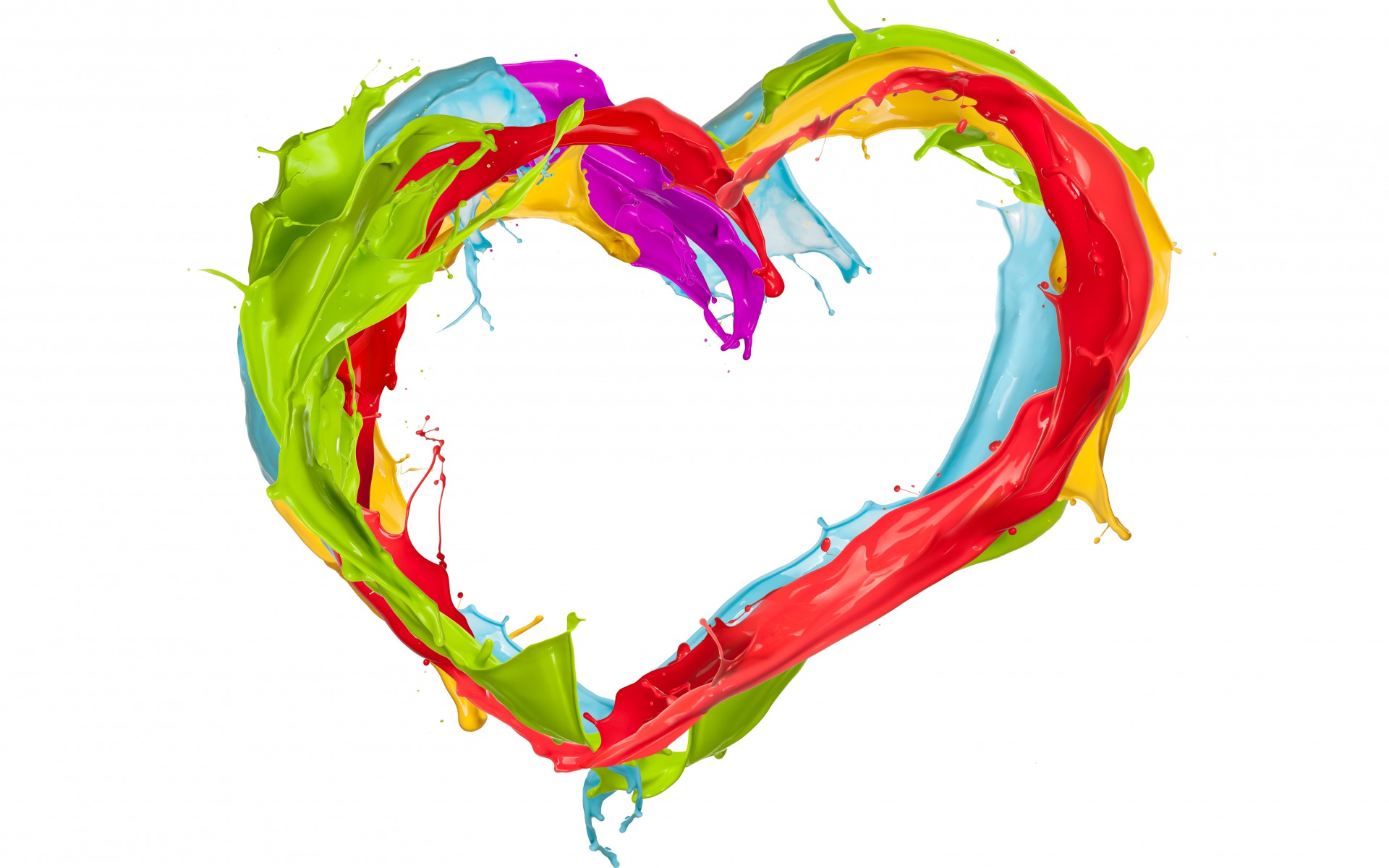 Paint Splatter Heart wallpapers | Paint Splatter Heart stock photos