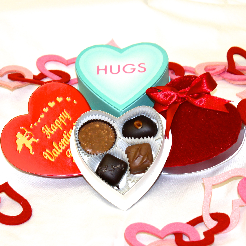 Heart shaped box photo