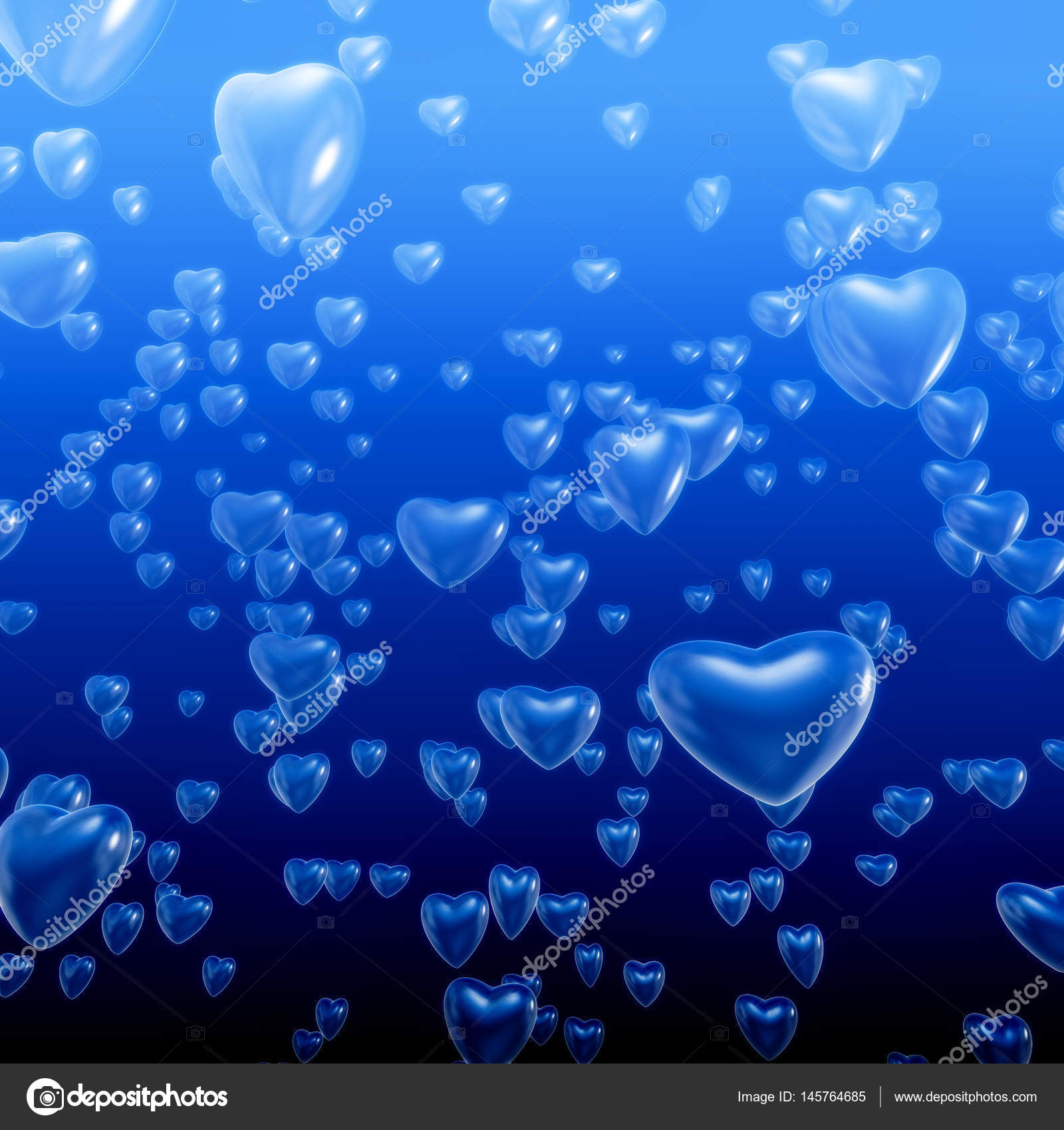 Heart bubbles underwater — Stock Photo © grandeduc #145764685