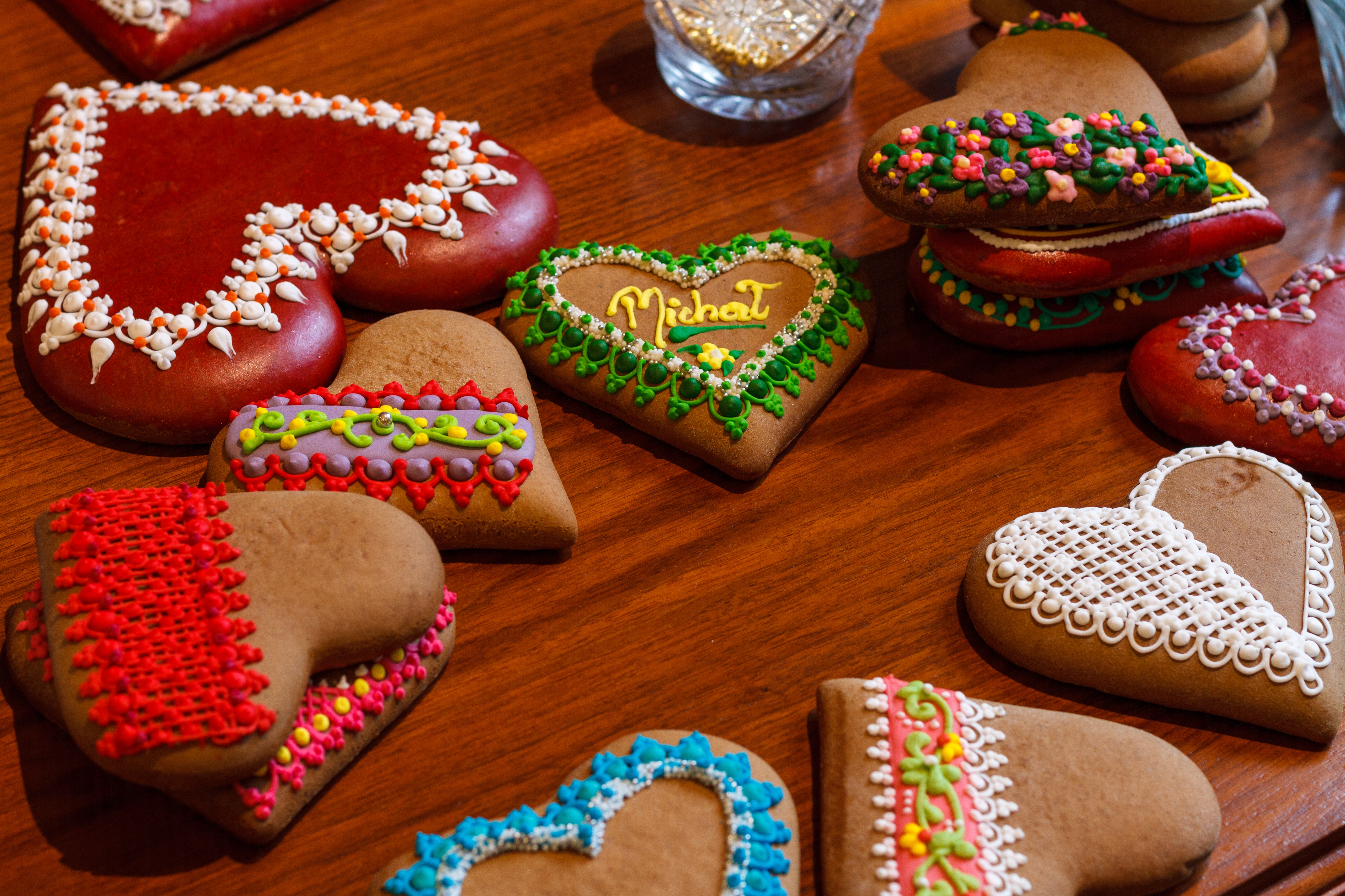 Heart Shaped Cookies, Art, Food, Traditional, Tasty, HQ Photo