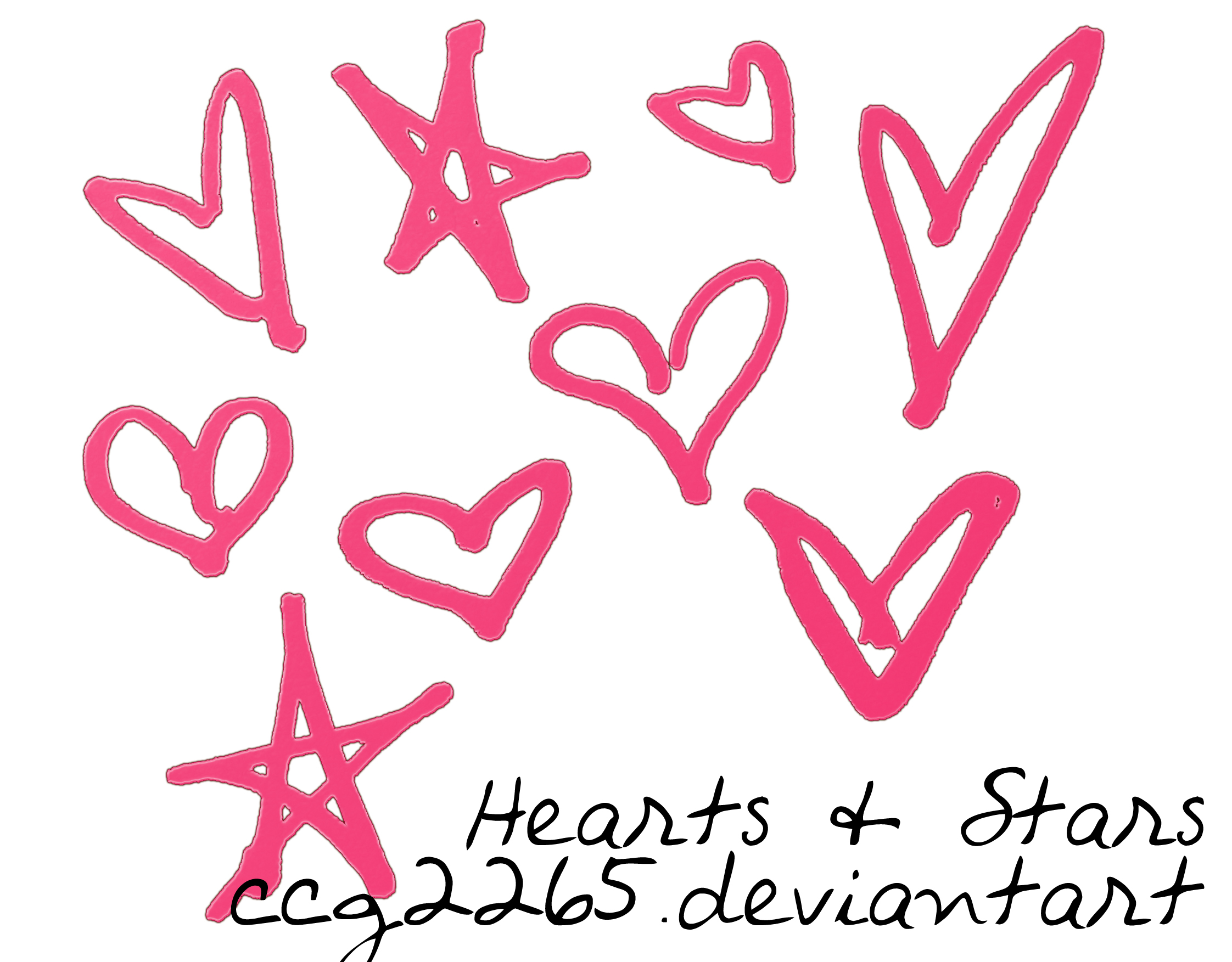 Hearts and Stars by ccg2265 on DeviantArt