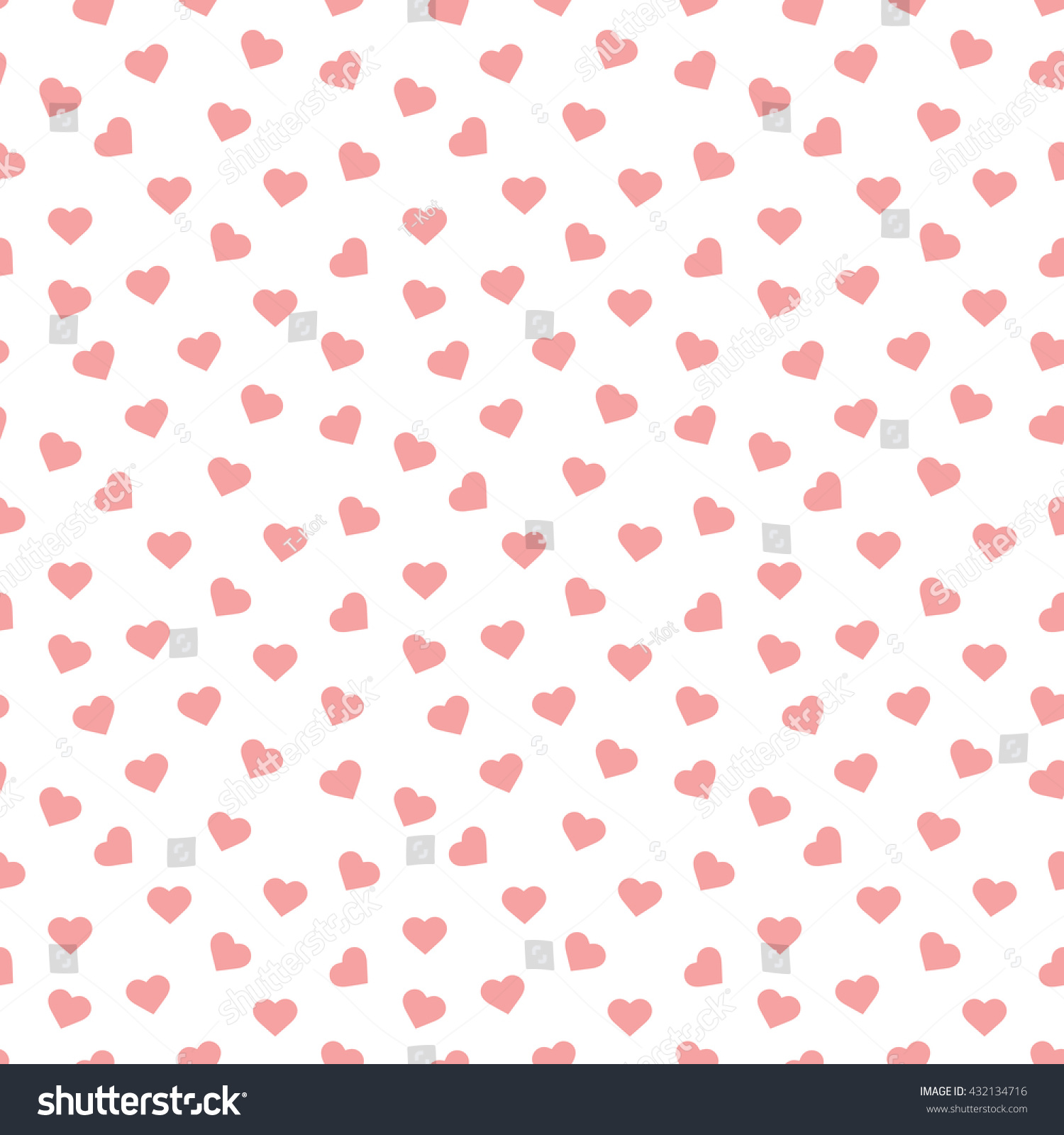Seamless Heart Pattern Background Stock Photo (Photo, Vector ...