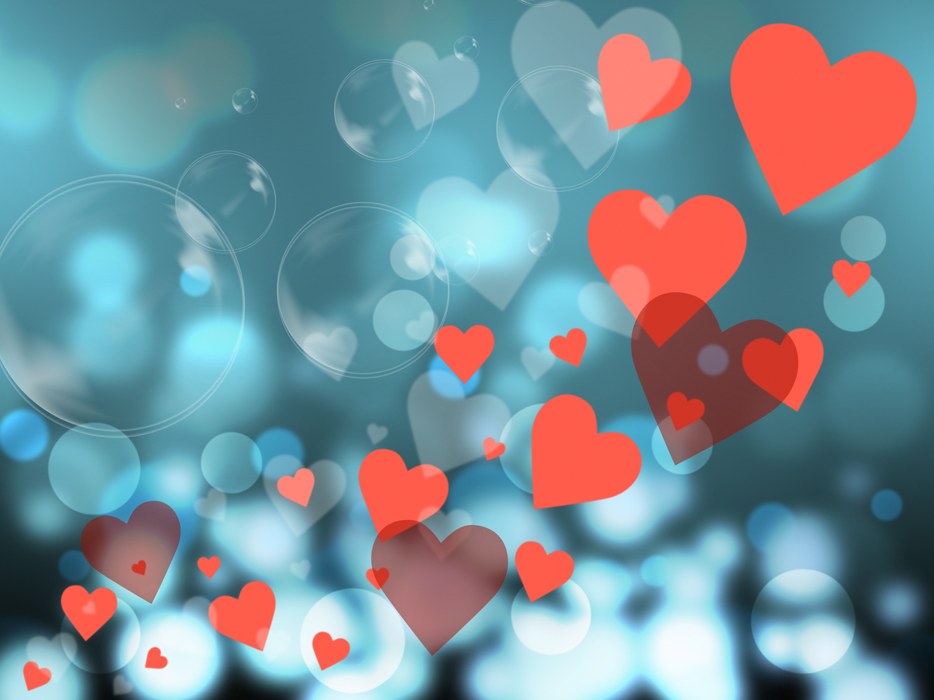 Hearts Background Represents Valentines Day And Backdrop, Abstract, Backdrop, Backgrounds, Design, HQ Photo
