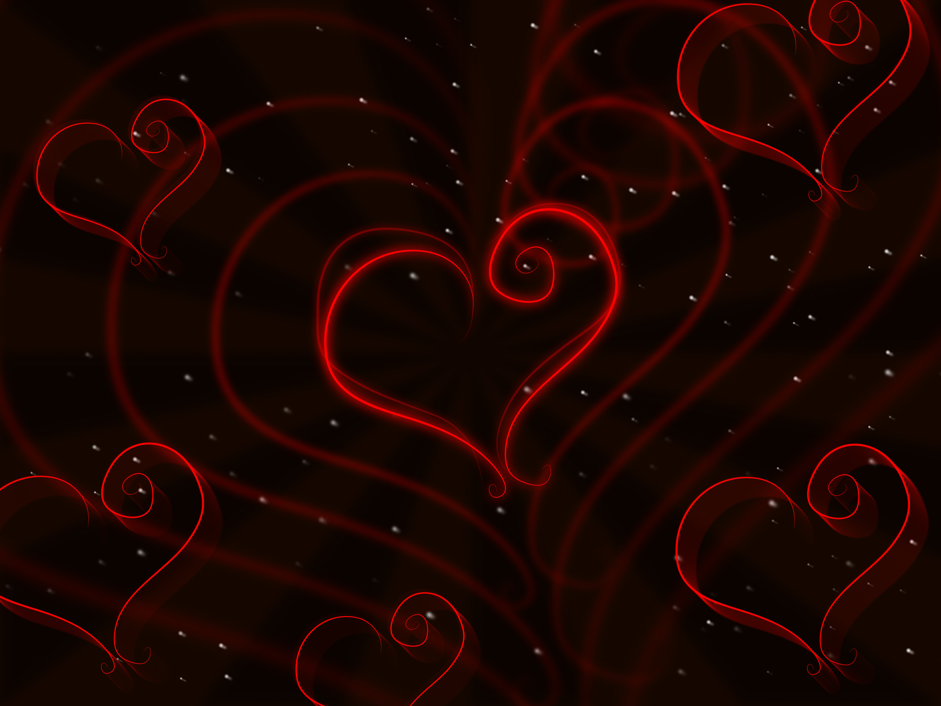 Hearts Background Shows Valentine Day And Affection, Abstract, Loving, Valentine, Template, HQ Photo